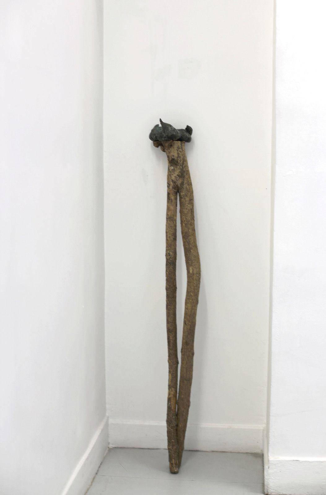 """""""Trécouille sur pied"""", 1991 de Erik DIETMAN - Courtesy Galerie Papillon © Photo Éric Simon"""