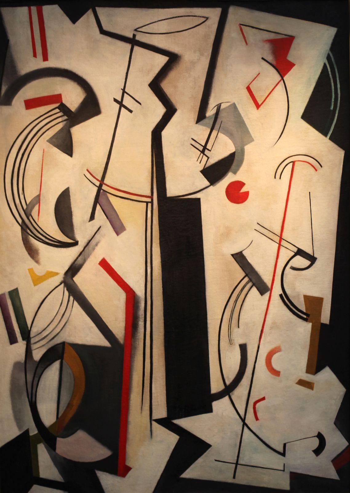 """""""La Polaire"""", 1950 de Youla CHAPOVAL - Courtesy Galerie Jeanne Bucher Jaeger © Photo Éric Simon"""