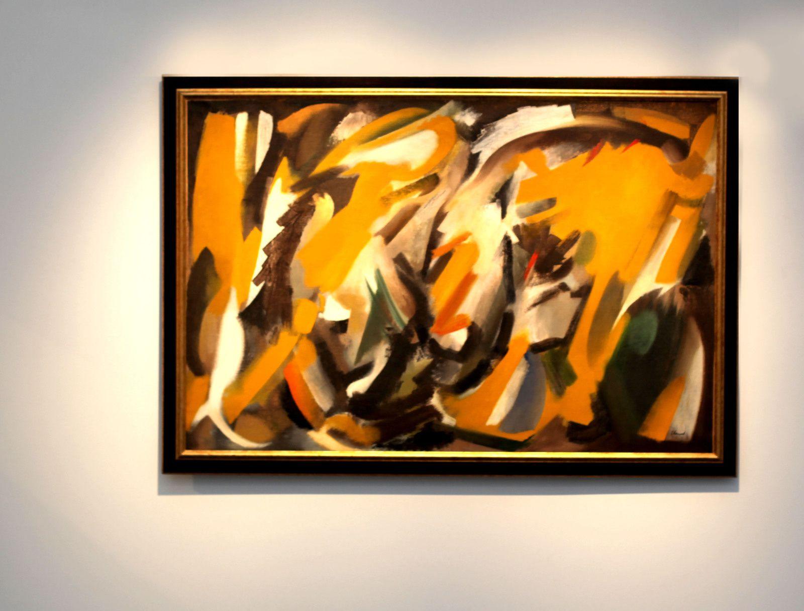 """""""Orbes"""", 1951 de Youla CHAPOVAL - Courtesy Galerie Jeanne Bucher Jaeger © Photo Éric Simon"""