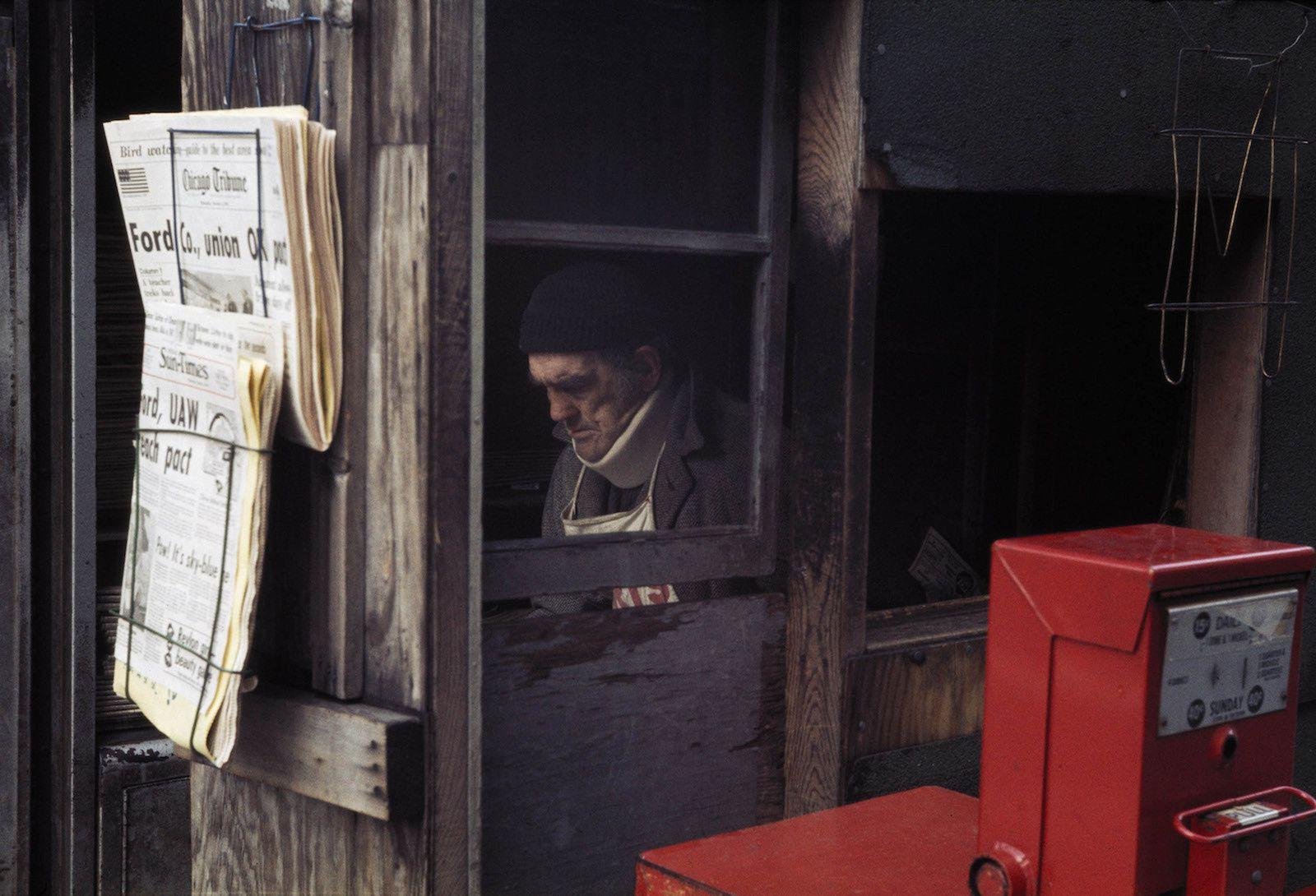 """""""Chicago, October 1976"""" de Vivian MAIER - Courtesy Les Douches la Galerie"""