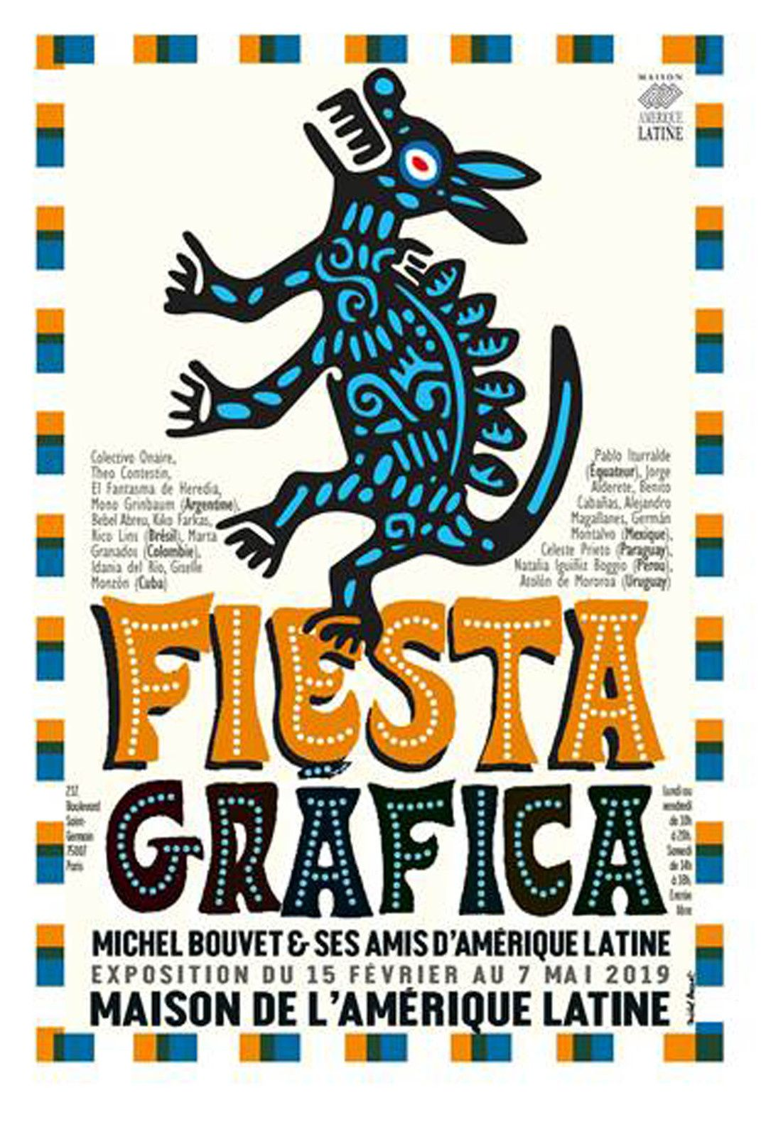Exposition Illustration Collective: Fiesta Gráfica