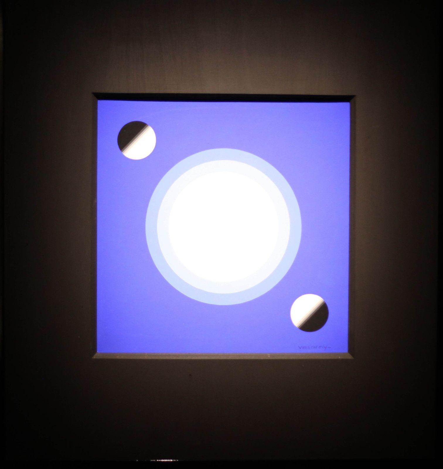 """""""Gea"""", 1980 - 1981 de Victor VASARELY - Courtesy Collection Particulière © Photo Éric Simon"""