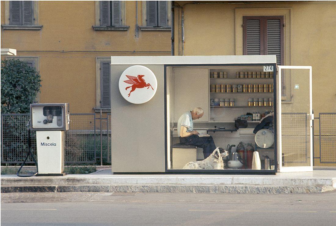 """""""Modena"""", 1973 de Luigi Ghirri CSAC, Università di Parma. © Succession Luigi Ghirri"""