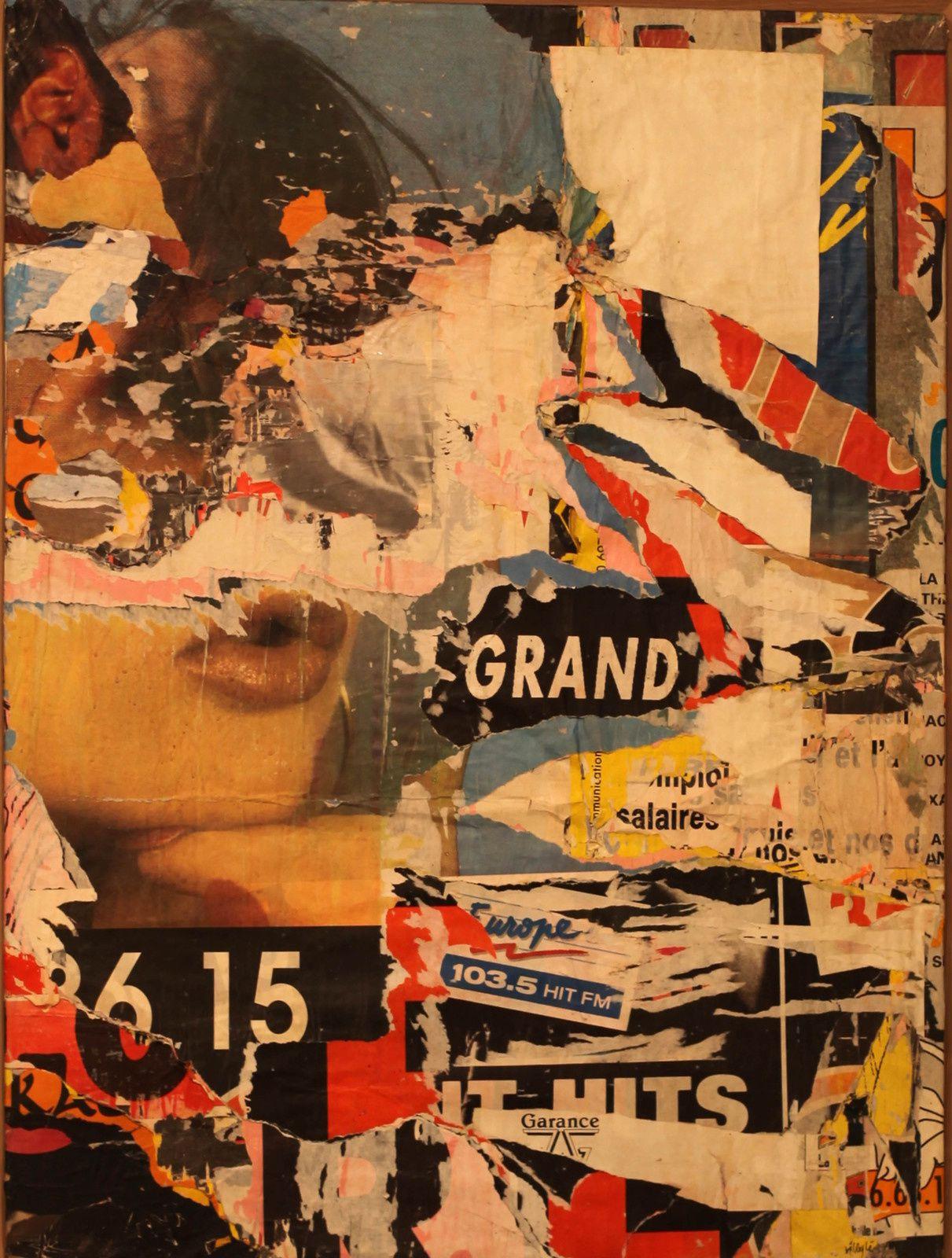 """""""28 mai 1990"""" de Jacque VILLKEGLÉ - Courtesy Galerie G-P & N Vallois © Photo Éric Simon"""