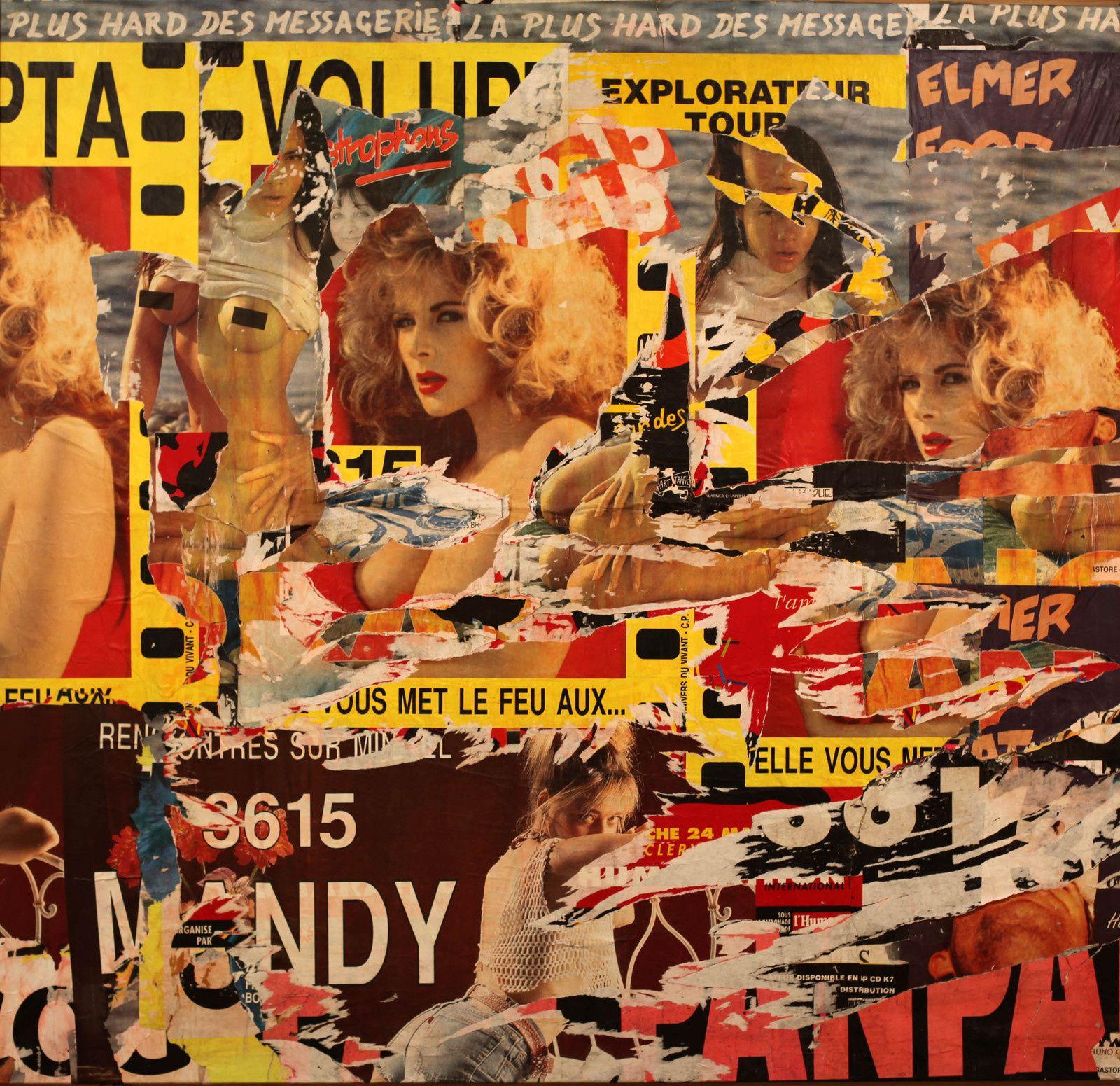 """""""mars 1991"""" de Jacque VILLKEGLÉ - Courtesy Galerie G-P & N Vallois © Photo Éric Simon"""