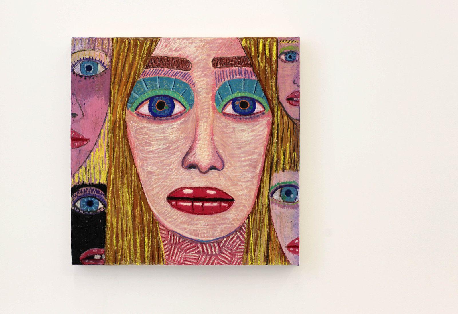 """""""Others"""", 2019 de Brian CALVIN - Courtesy Galerie Almine Rech © Photo Éric Simon"""