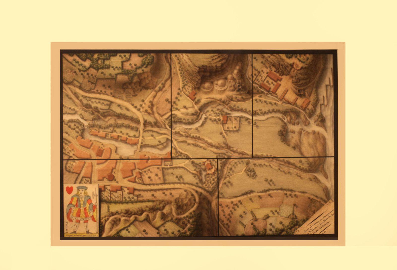 """""""Exercice de dessin topographique"""", 1801 de Jean-Jacques LEQUEU - Courtesy le Petit Palais © Photo Éric Simon"""