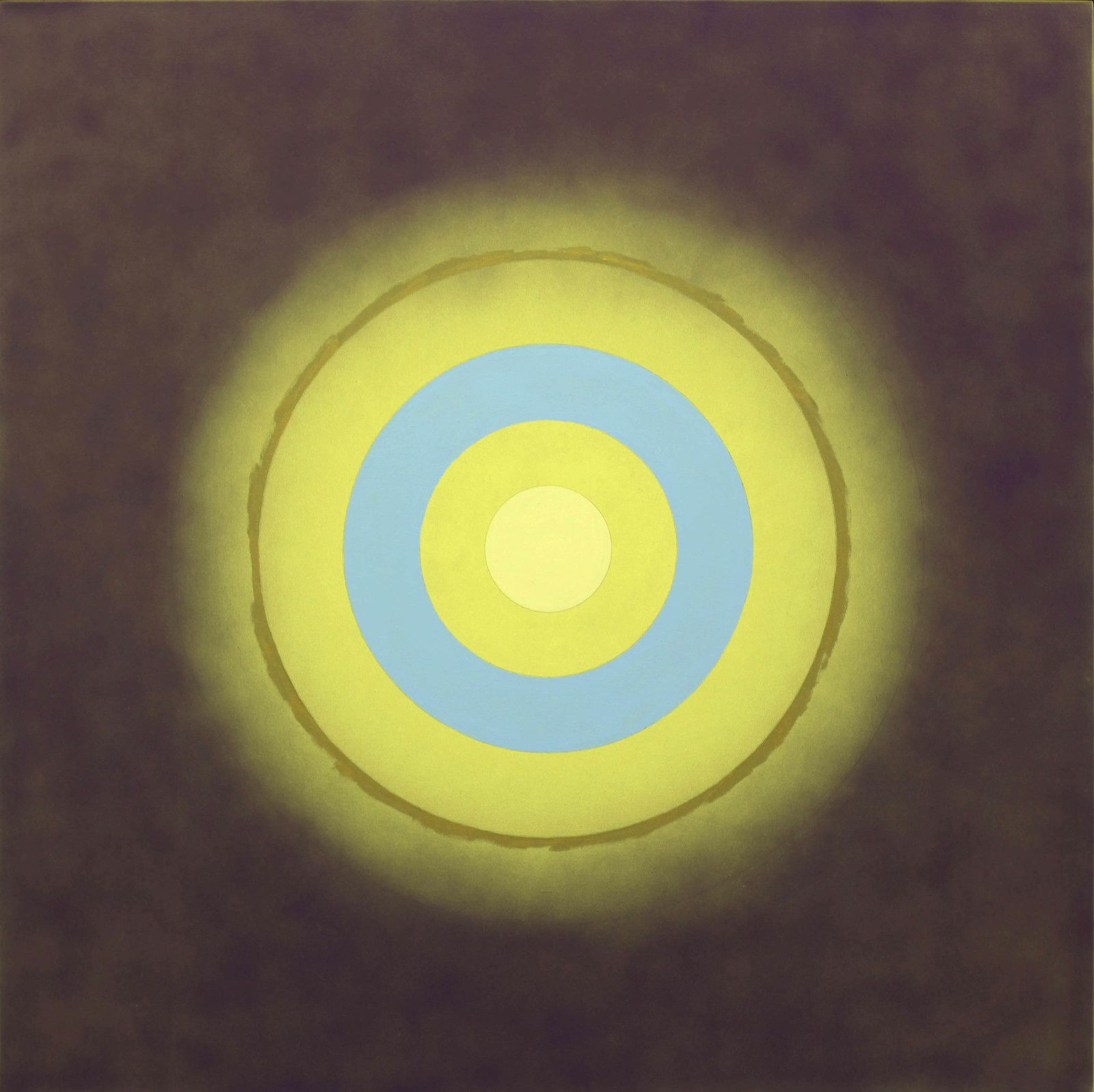 """Mysteries: Persistence of Blue"", 1999 de Kenneth NOLAND - Courtesy Galerie Almine RECH © Photo Éric Simon"