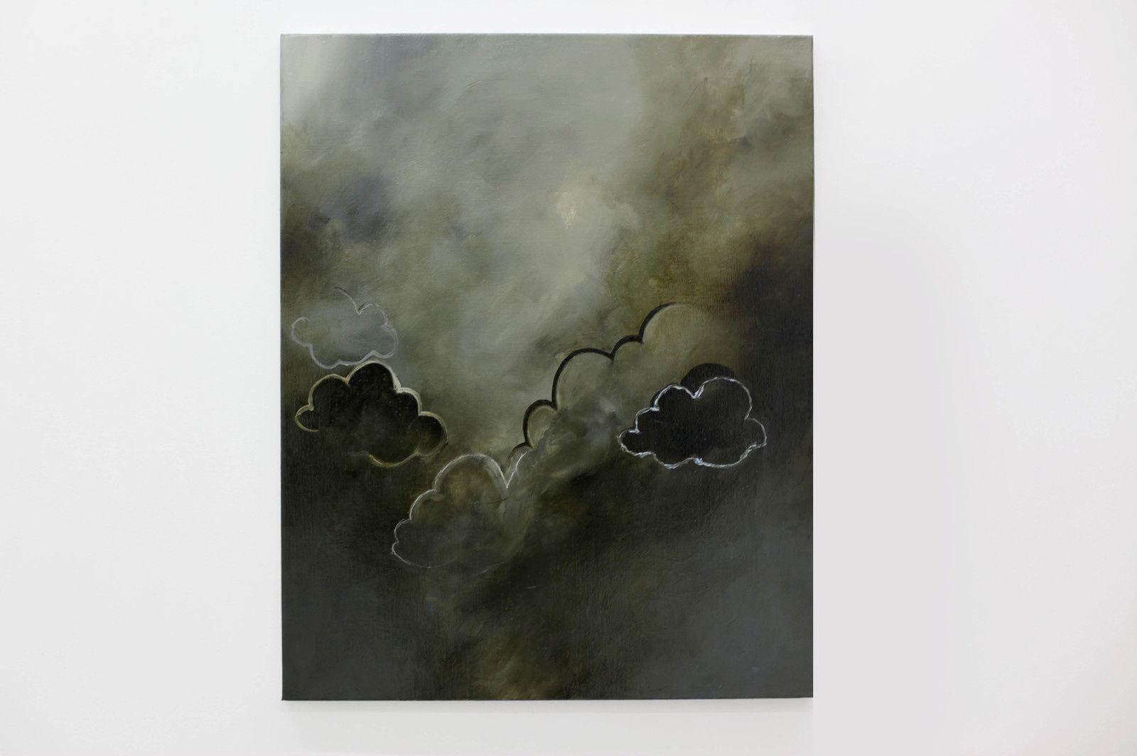 """""""Étude de nuage N°80"""", 2019 de Fabio DERONZIER - Courtesy Galerie ALB © Photo Éric Simon"""