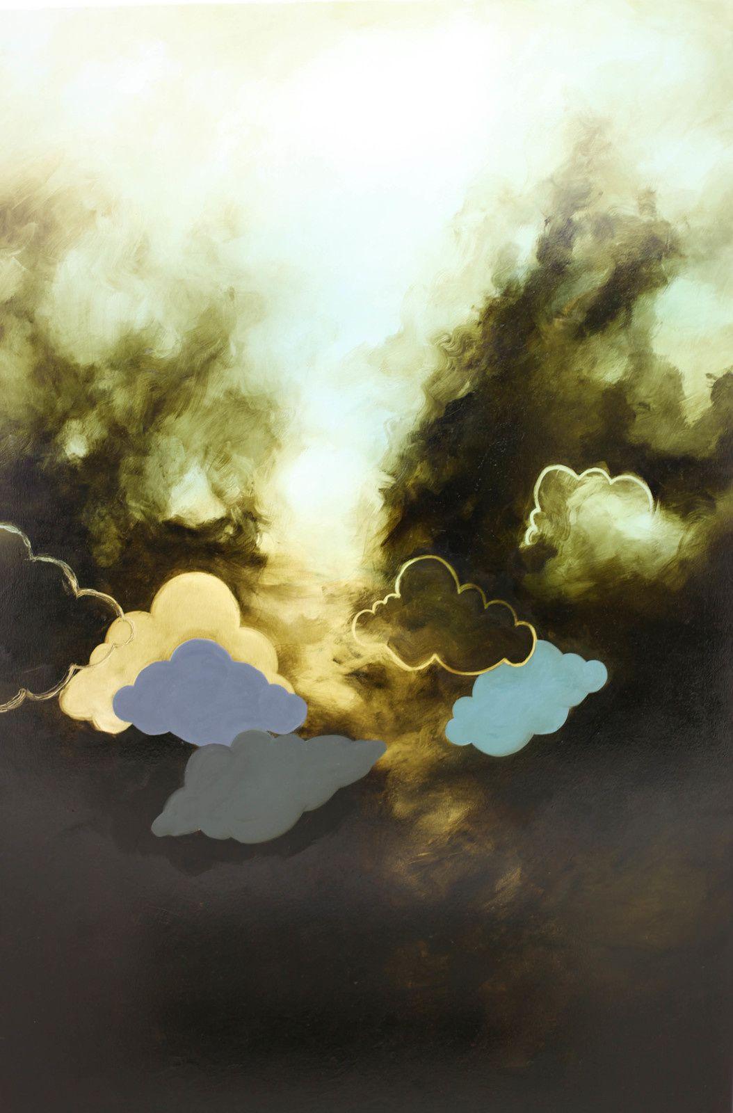 """""""Étude de nuage N°75"""", 2019 de Fabio DERONZIER - Courtesy Galerie ALB © Photo Éric Simon"""