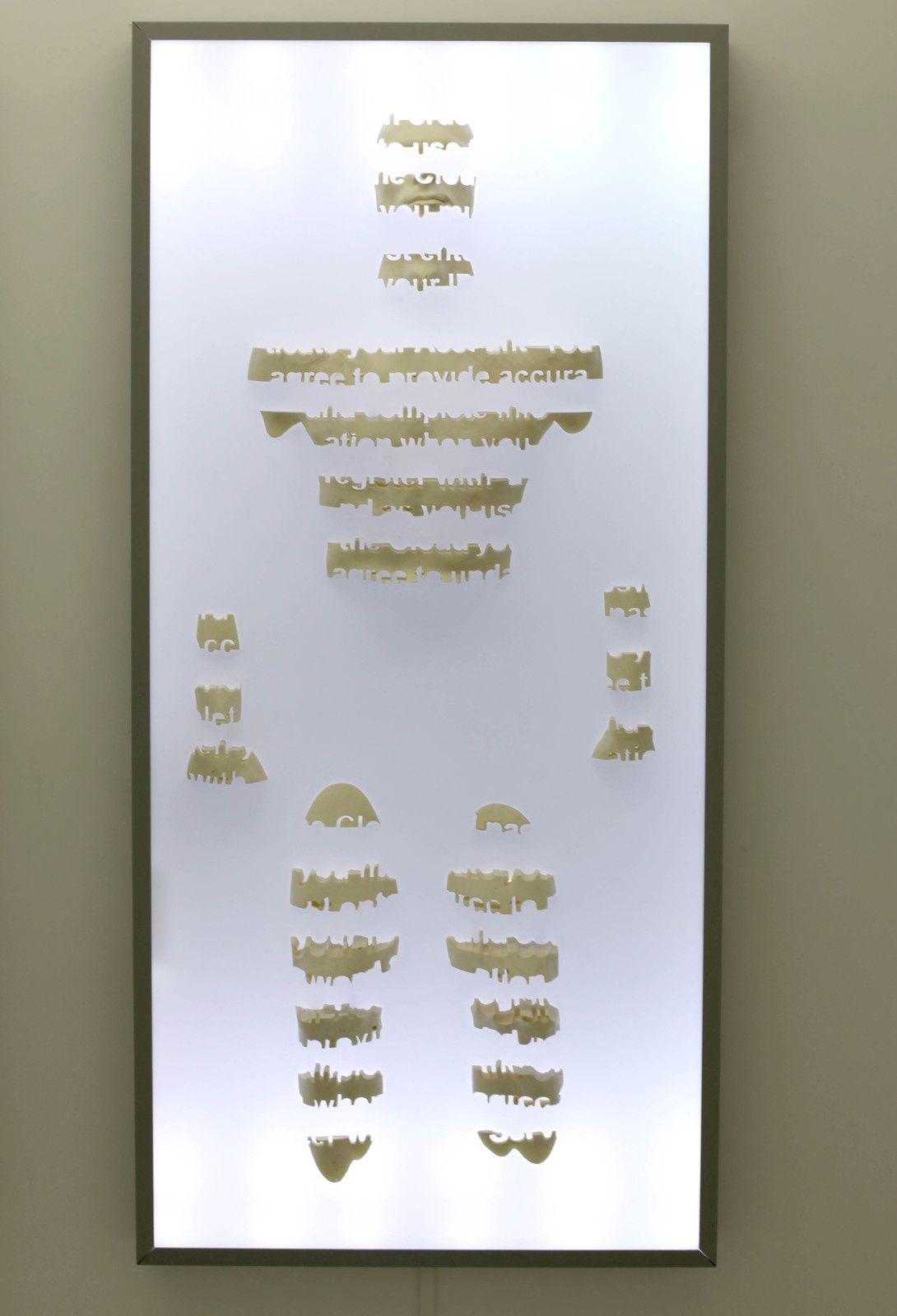 """""""Enlightener 12"""", 2015 de RECYCLE GROUP - Courtesy Galerie Suzanne Tarasiève Paris © Photo Éric Simon"""