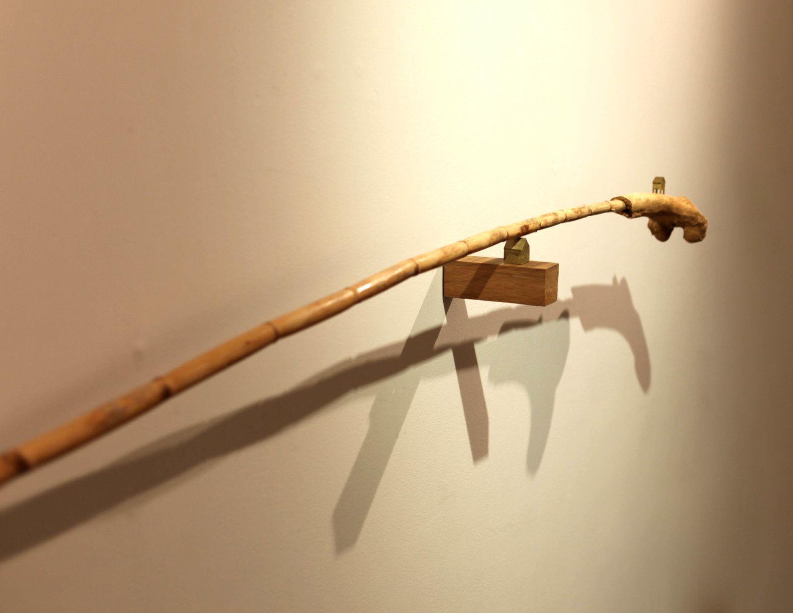 """""""Bronze psychographique"""" de Erik NUSSBICKER - Courtesy Galerie Maubert © Photo Éric Simon"""