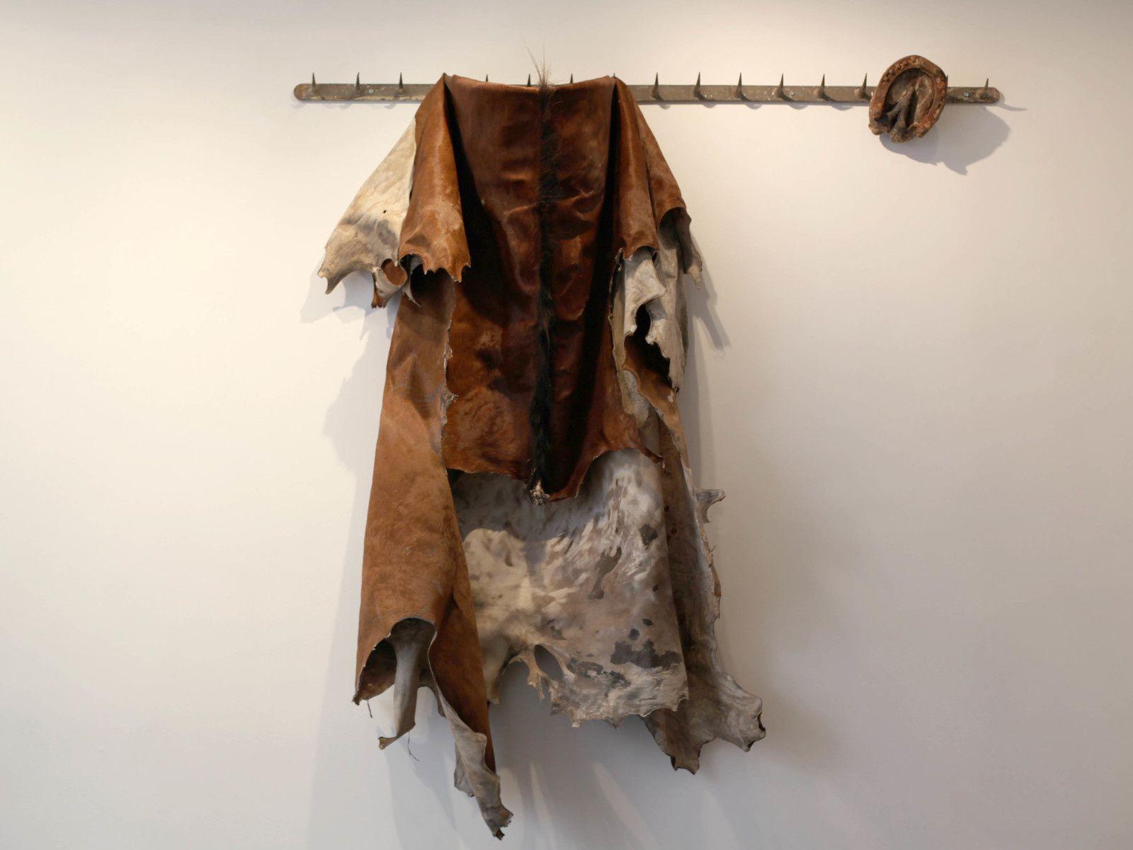 """""""Mue Végane"""", 2014 de Erik NUSSBICKER - Courtesy Galerie Maubert © Photo Éric Simon"""
