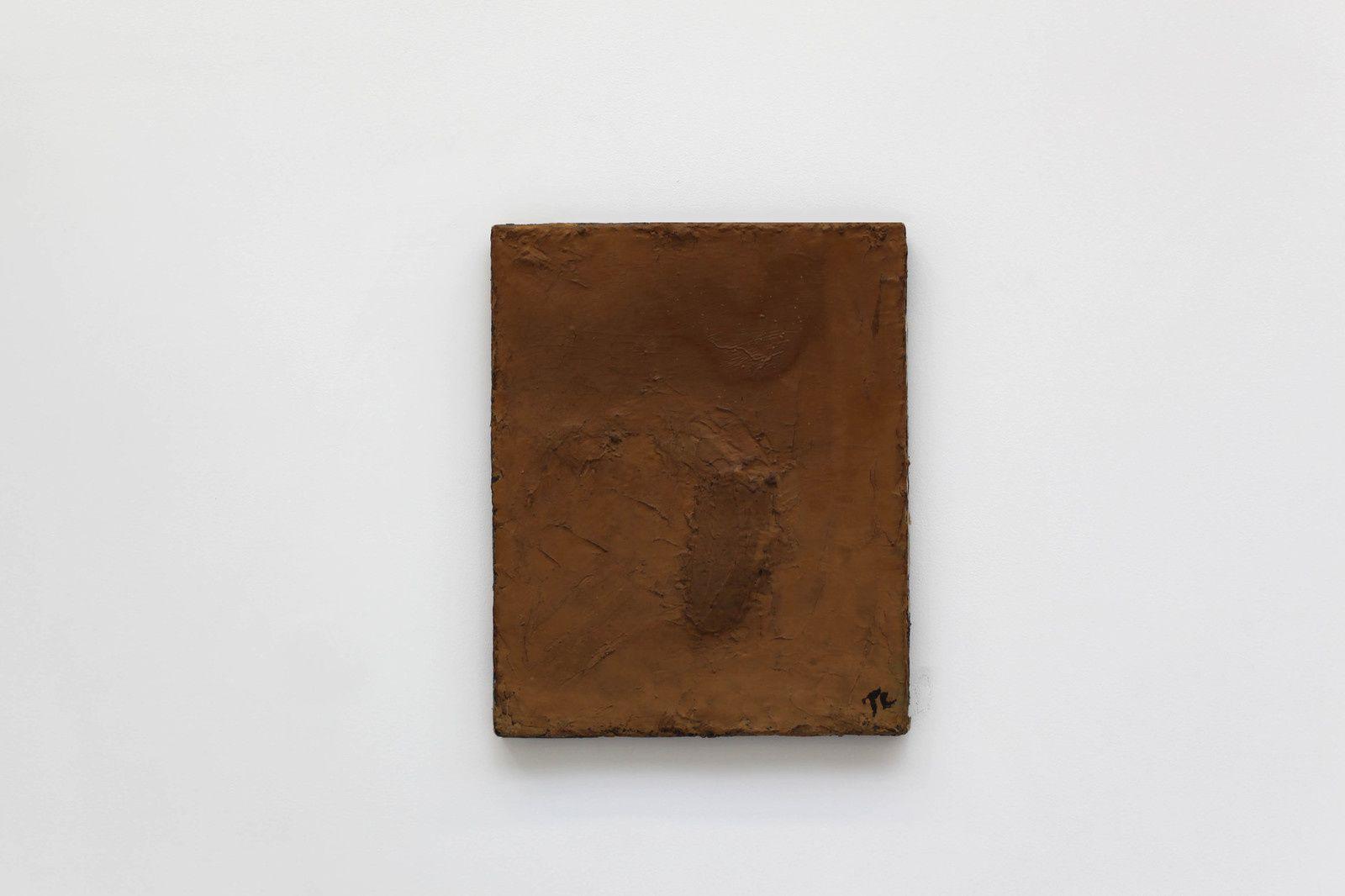 """""""Déchiré profond"""" , 1972 de Pierre TAL COAT - Courtesy Galerie Christophe Gaillard © Photo Éric Simon"""