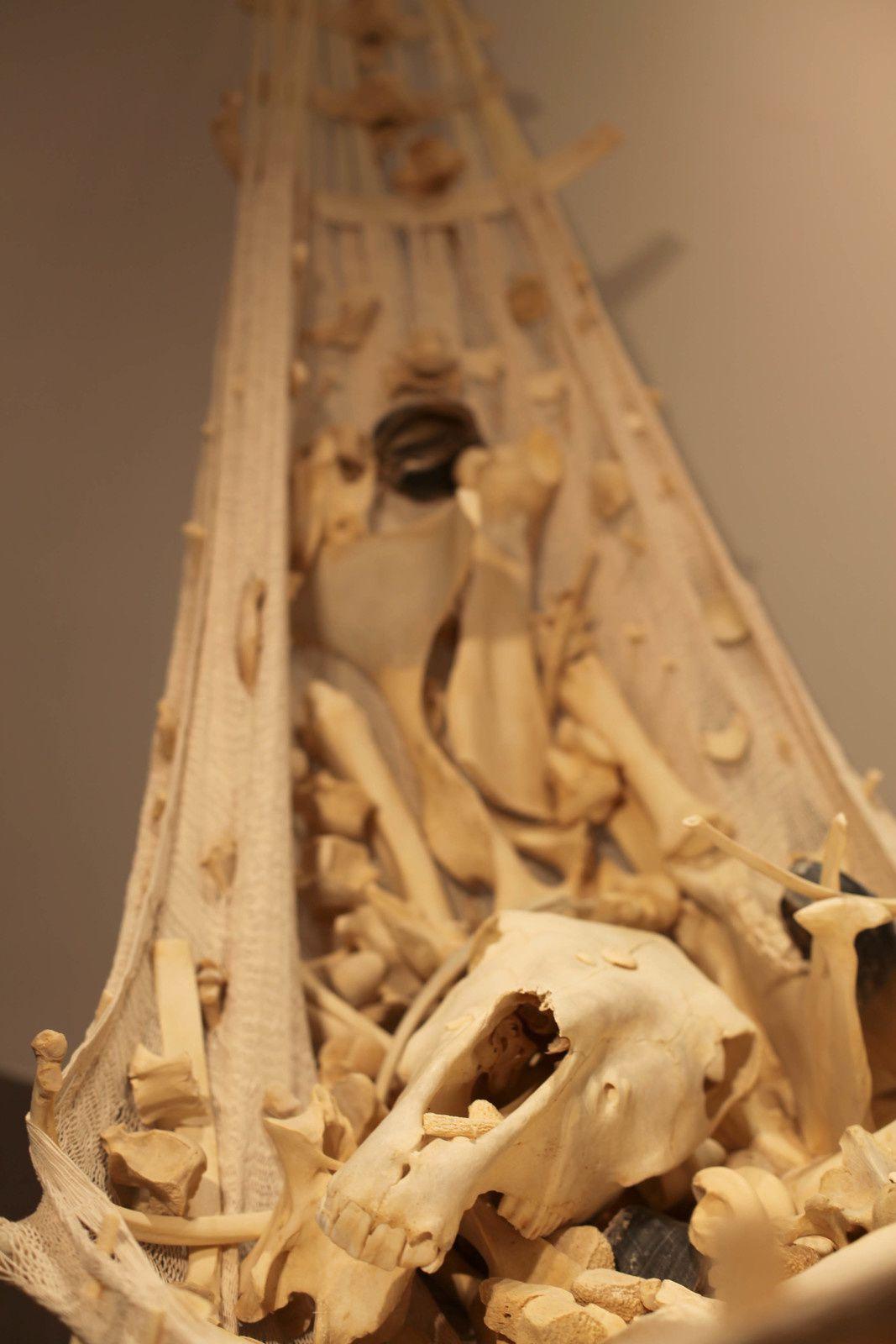 """détail """"Réforme"""", 2014 de Erik NUSSBICKER - Courtesy Galerie Maubert © Photo Éric Simon"""