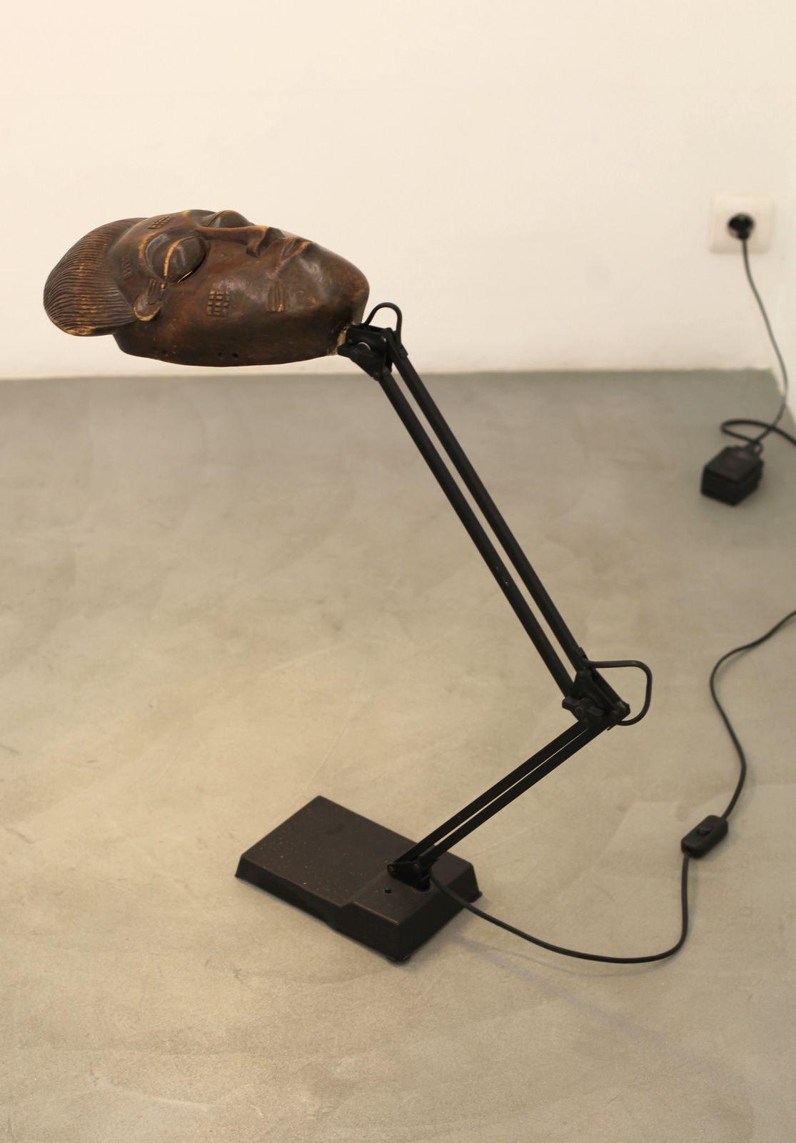 """""""Black light pour visages pâles"""",  1986 de Présence Panchounette - Courtesy galerie Sémiose © Photo Éric Simon"""