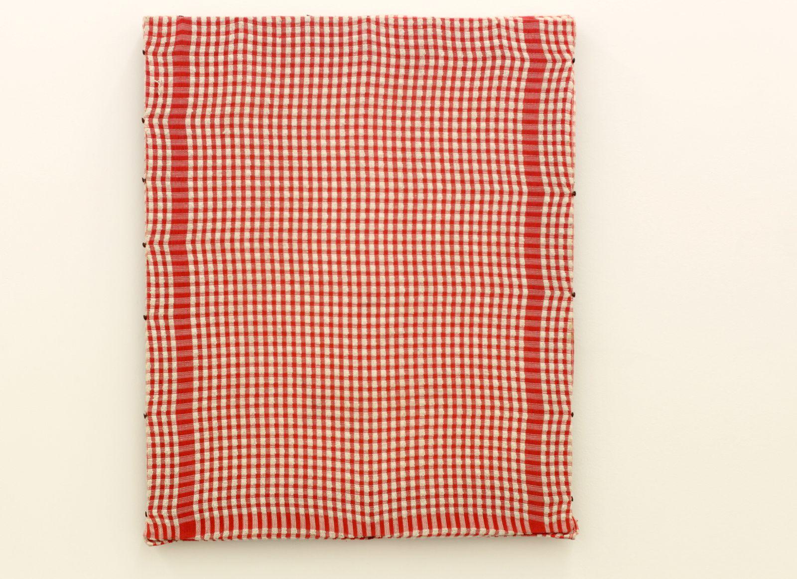 """""""Peinture au torchon"""", 1975 de Présence Panchounette - Courtesy galerie Sémiose © Photo Éric Simon"""