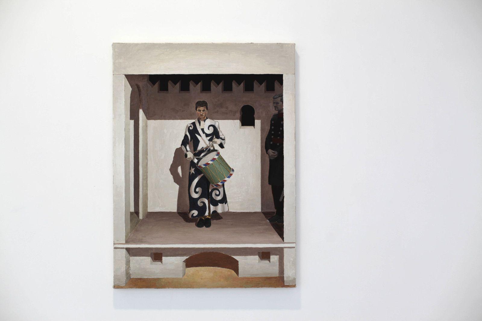 """""""Bandmaster"""", 2019 de Christian HIDAKA - Courtesy de l'artiste et la Galerie Michel Rein © Photo Éric Simon"""