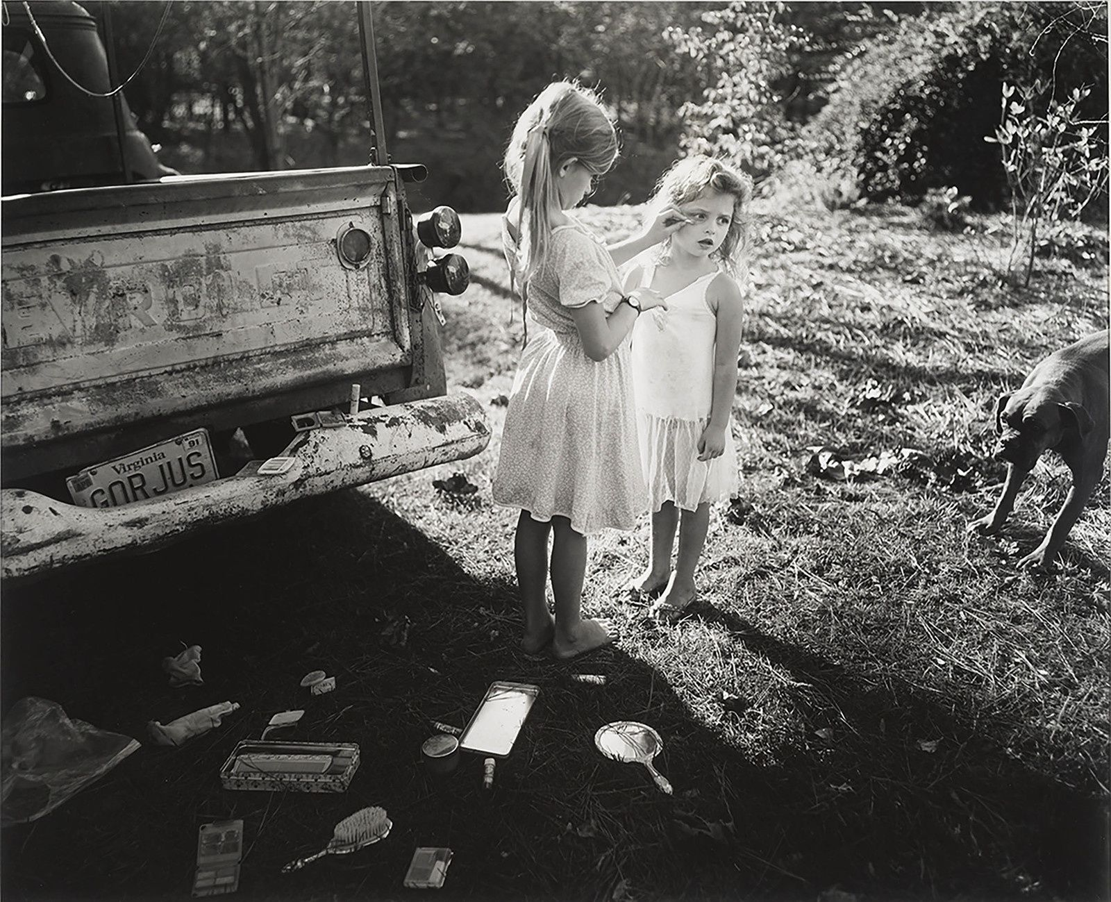 """Gorjus"", 1989 de Sally MANN . Sayra and Neil Meyerhoff. © Sally Mann"