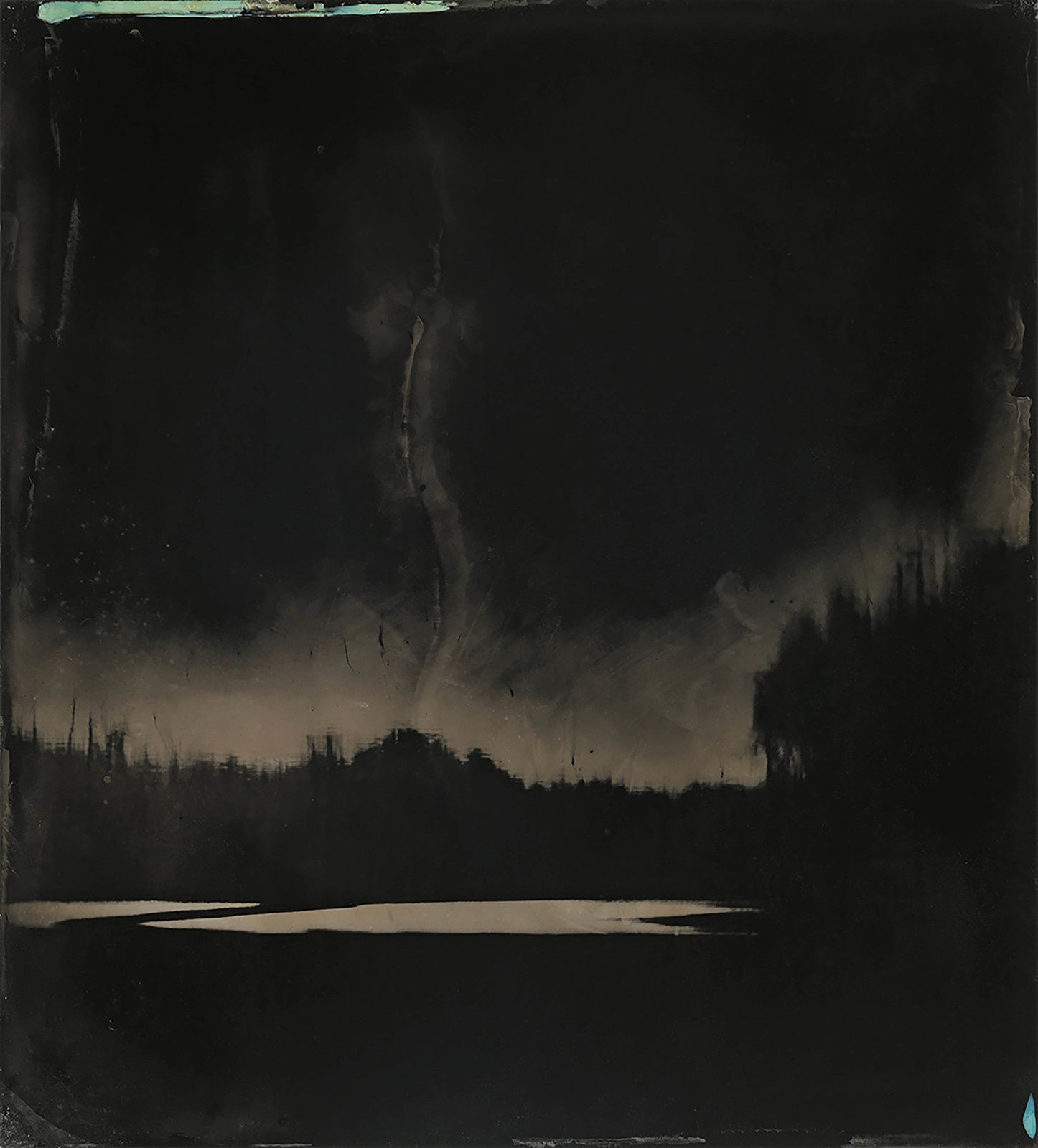 """Blackwater 9"", 2008 - 2012 de Sally MANN Tintype. Collection of the artist © Sally Mann"