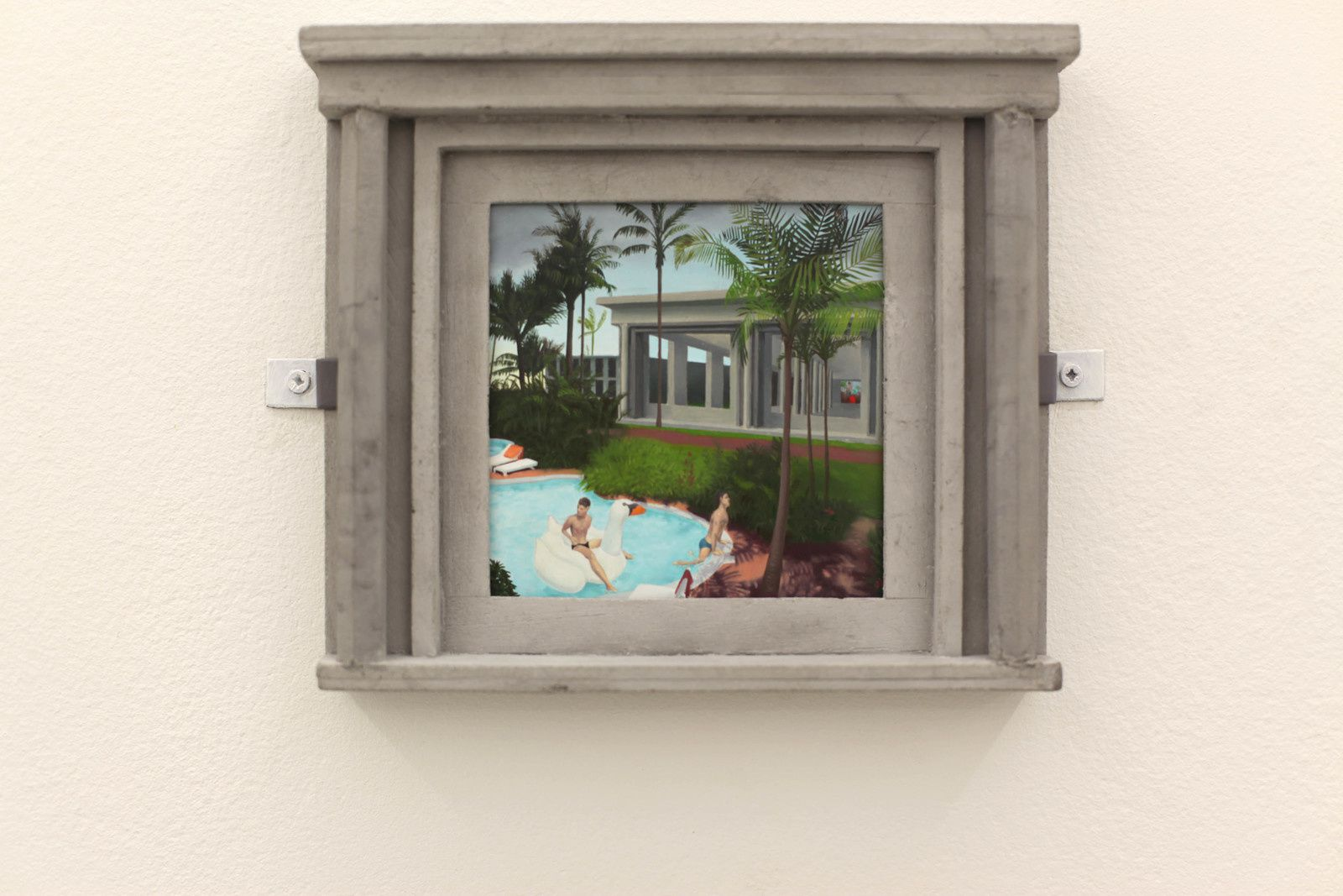 """Resort"", 2019 de Jean CLARACQ - Courtesy Galerie Praz-Delavallade PARIS © Photo Éric Simon"
