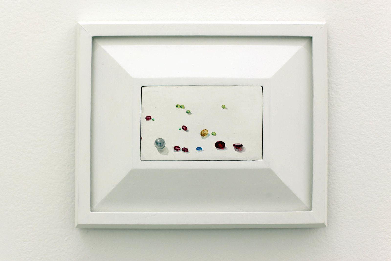 """""""Nature morte à la perle"""", 2014 de Jean CLARACQ - Courtesy Galerie Praz-Delavallade PARIS © Photo Éric Simon"""