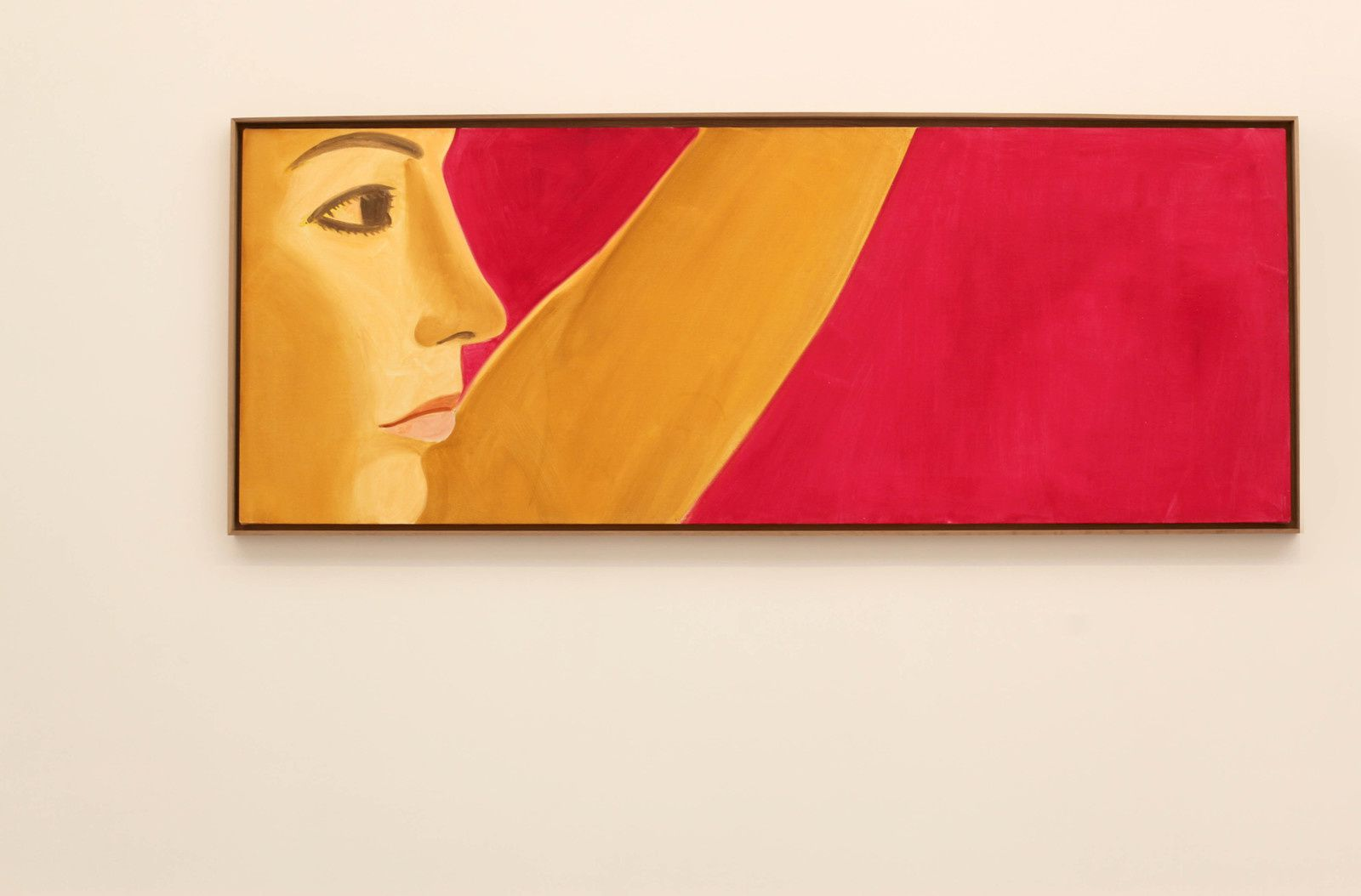 """Red Dancer 7"", 2018 de Alex KATZ - Courtesy Galerie Thaddaeus Ropac © Photo Éric Simon"