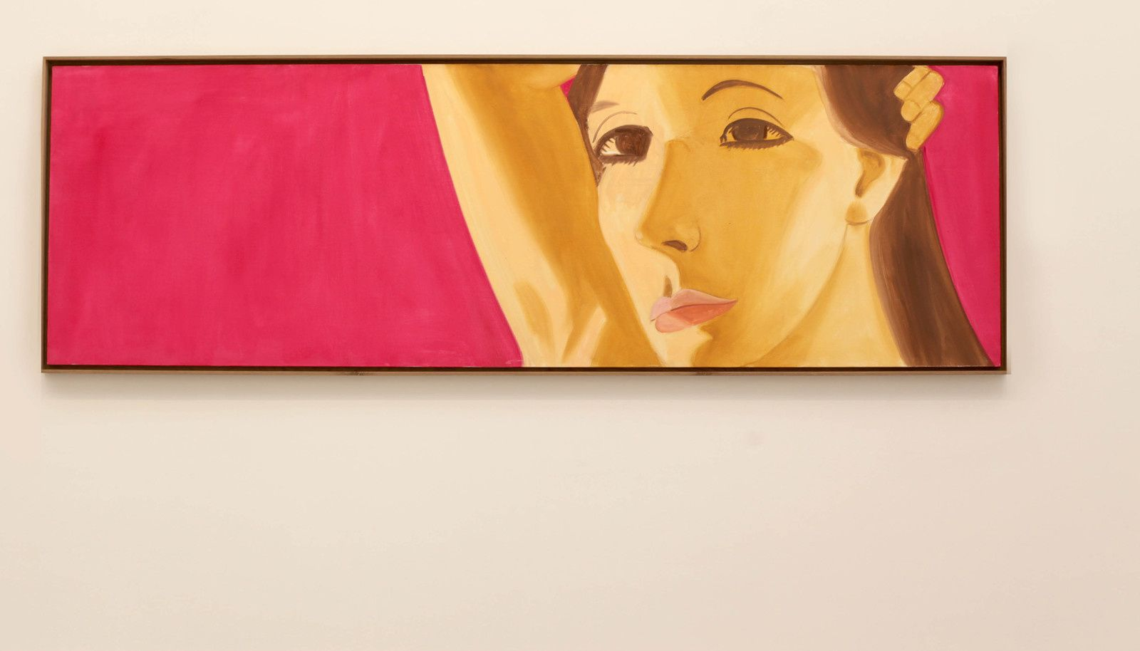 """Red Dancer 10"", 2018 de Alex KATZ - Courtesy Galerie Thaddaeus Ropac © Photo Éric Simon"