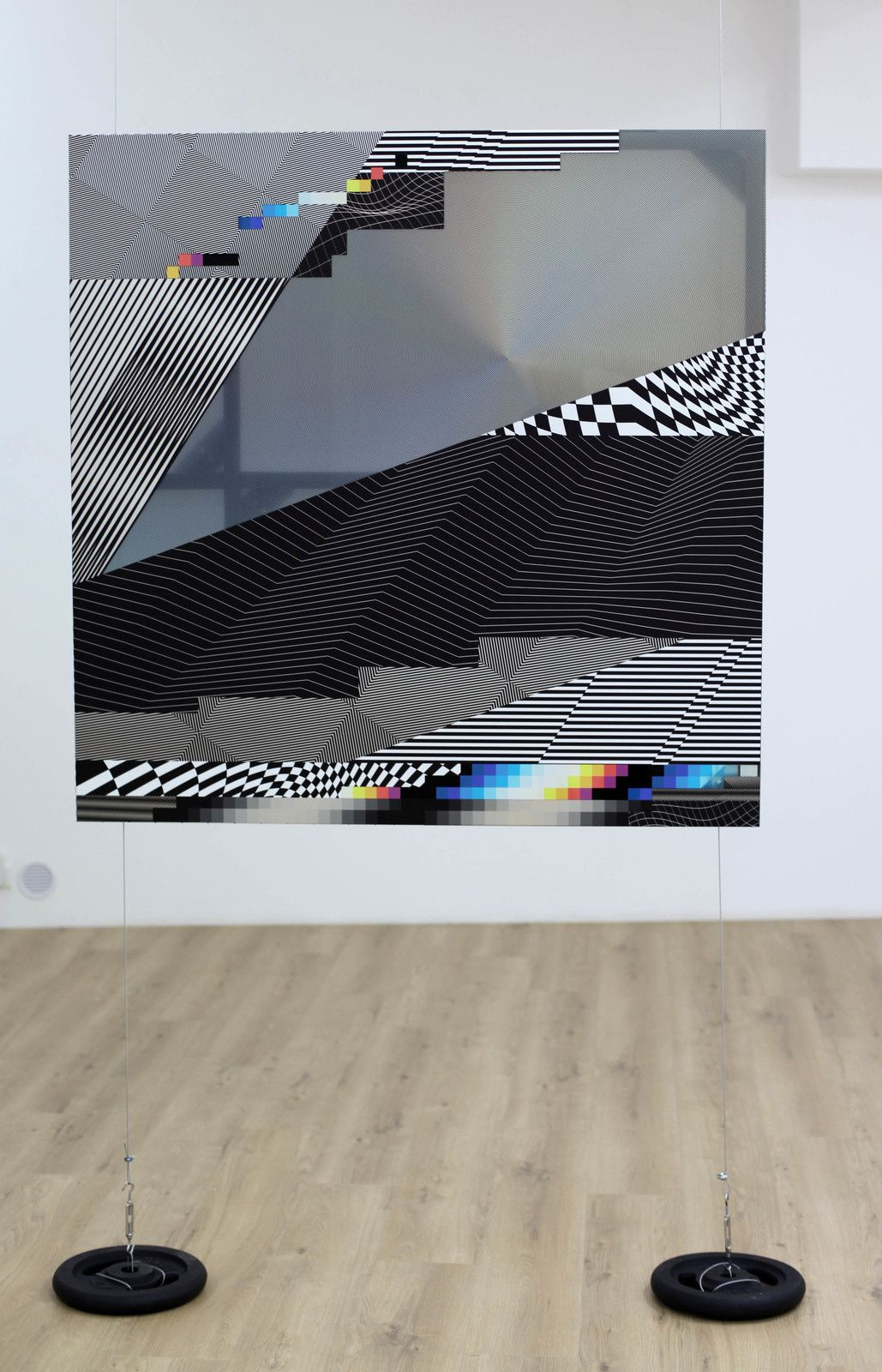 """W3 - Dimensional 29"", 2019 de Felipe PANTONE - Courtesy Gallery Danysz © Photo Éric Simon"