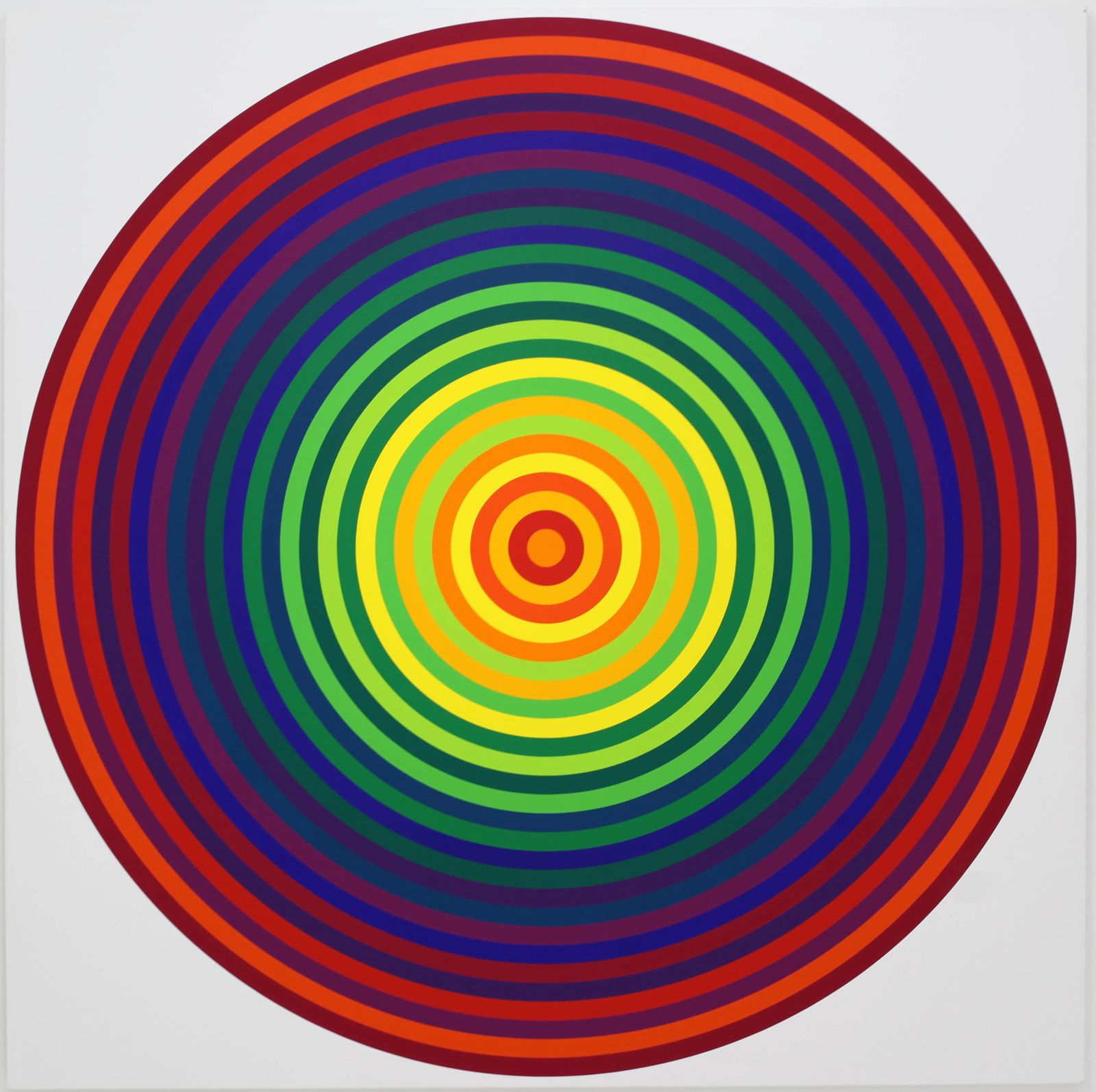 """Série 23 N° 14-11"", 1970 de Julio LE PARC - Courtesy Galerie Perrotin © Photo Éric Simon"