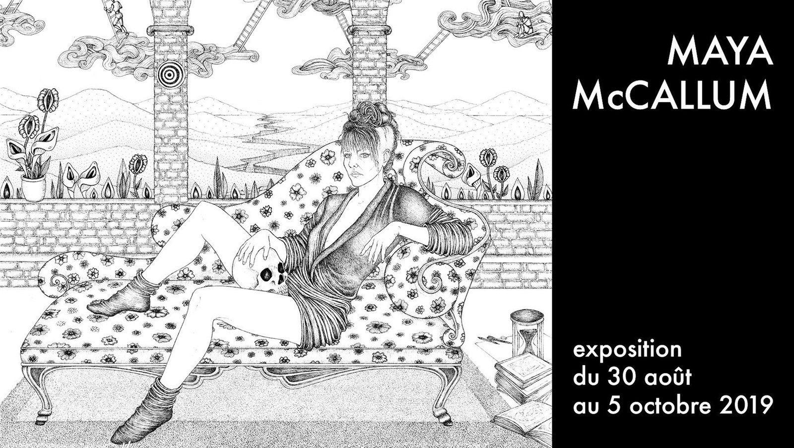 Exposition Collective Illustration Contemporaine: Maya Mc CALLUM, Frédéric VOISIN & Pat ANDREA