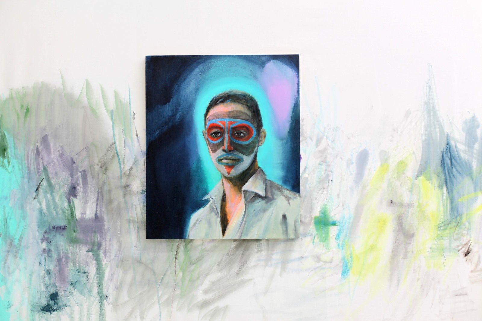 """""""To be Titled"""", 2019 de Romain BERNINI - Courtesy Galerie Suzanne Tarasiève © Photo Éric Simon"""