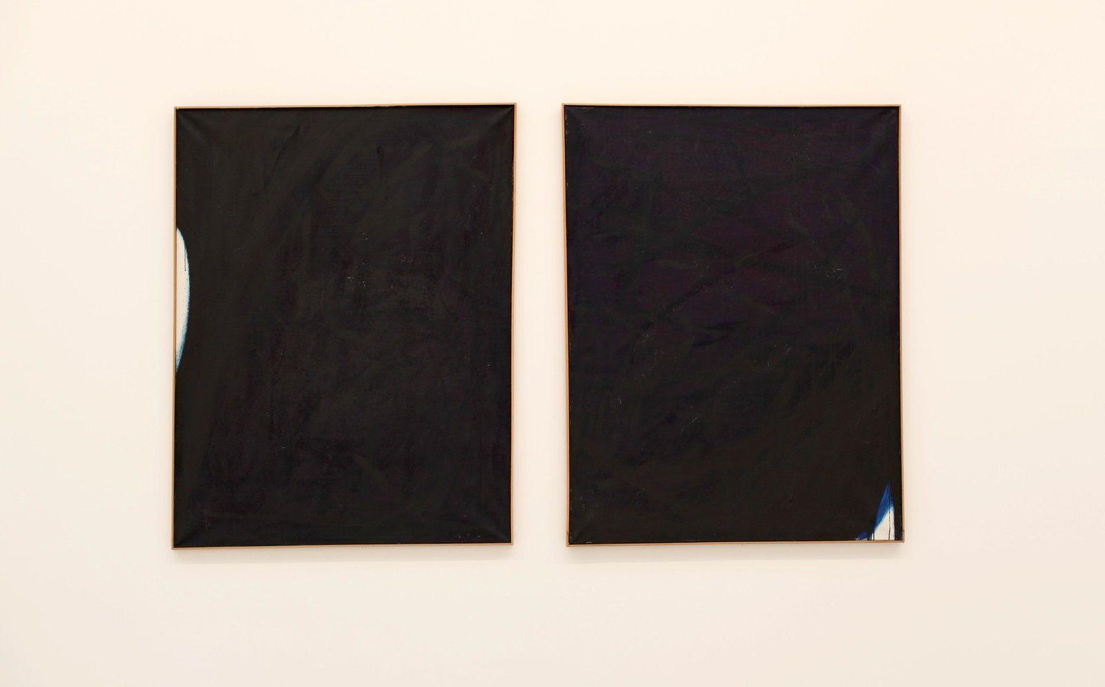 """Ohne Titel"" und ""Ohne Titel"" no dated de Arnulf RAINER - Courtesy Galerie Thaddaeus Ropac © Photo Éric Simon"