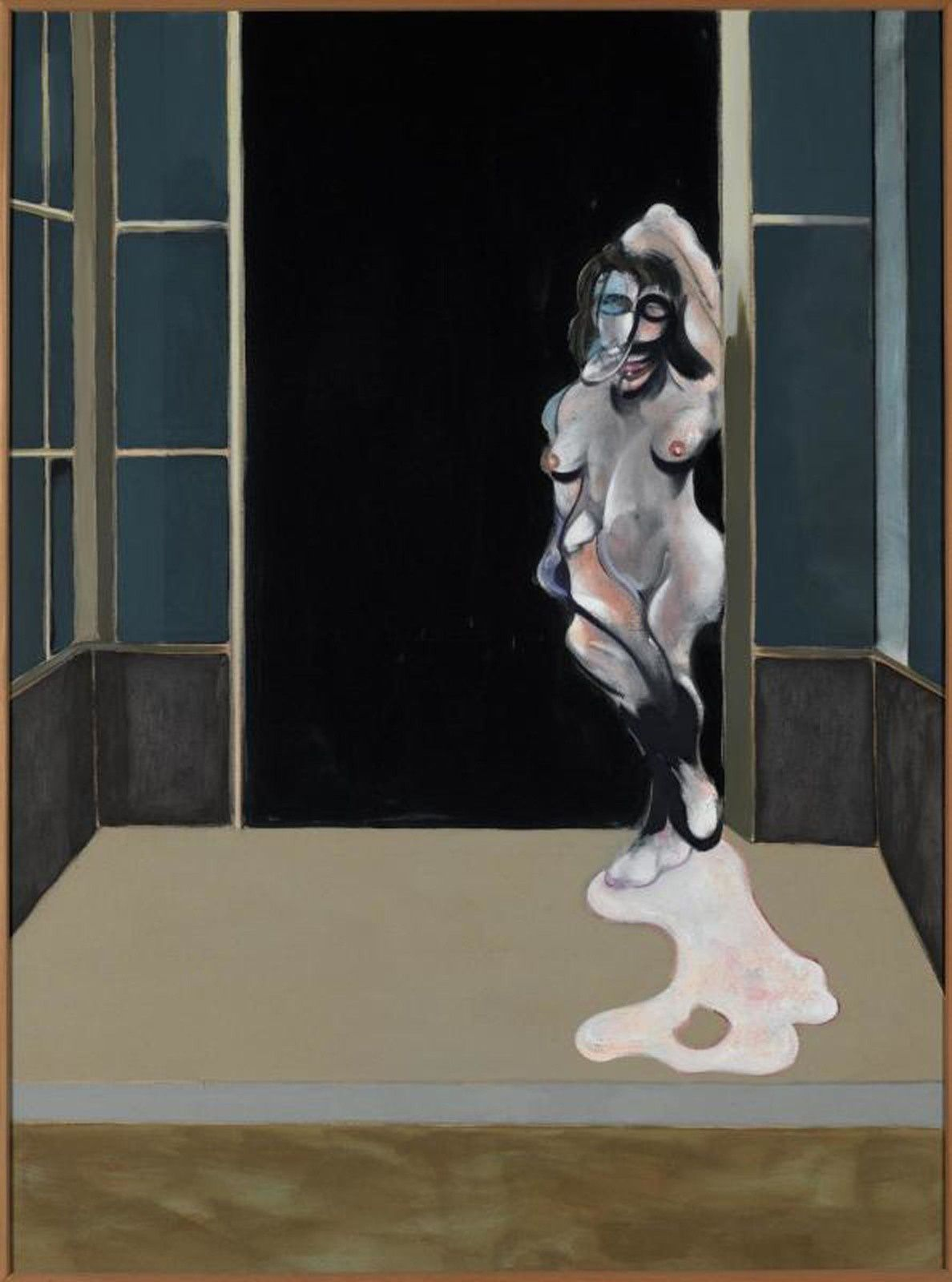 """Female nude standing in doorway"", 1972 de Francis BACON © Philippe Migeat - Centre Pompidou, MNAM-CCI /Dist. RMN-GP © The Estate of Francis Bacon / All rights reserved / Adagp, Paris and DACS, Londres"