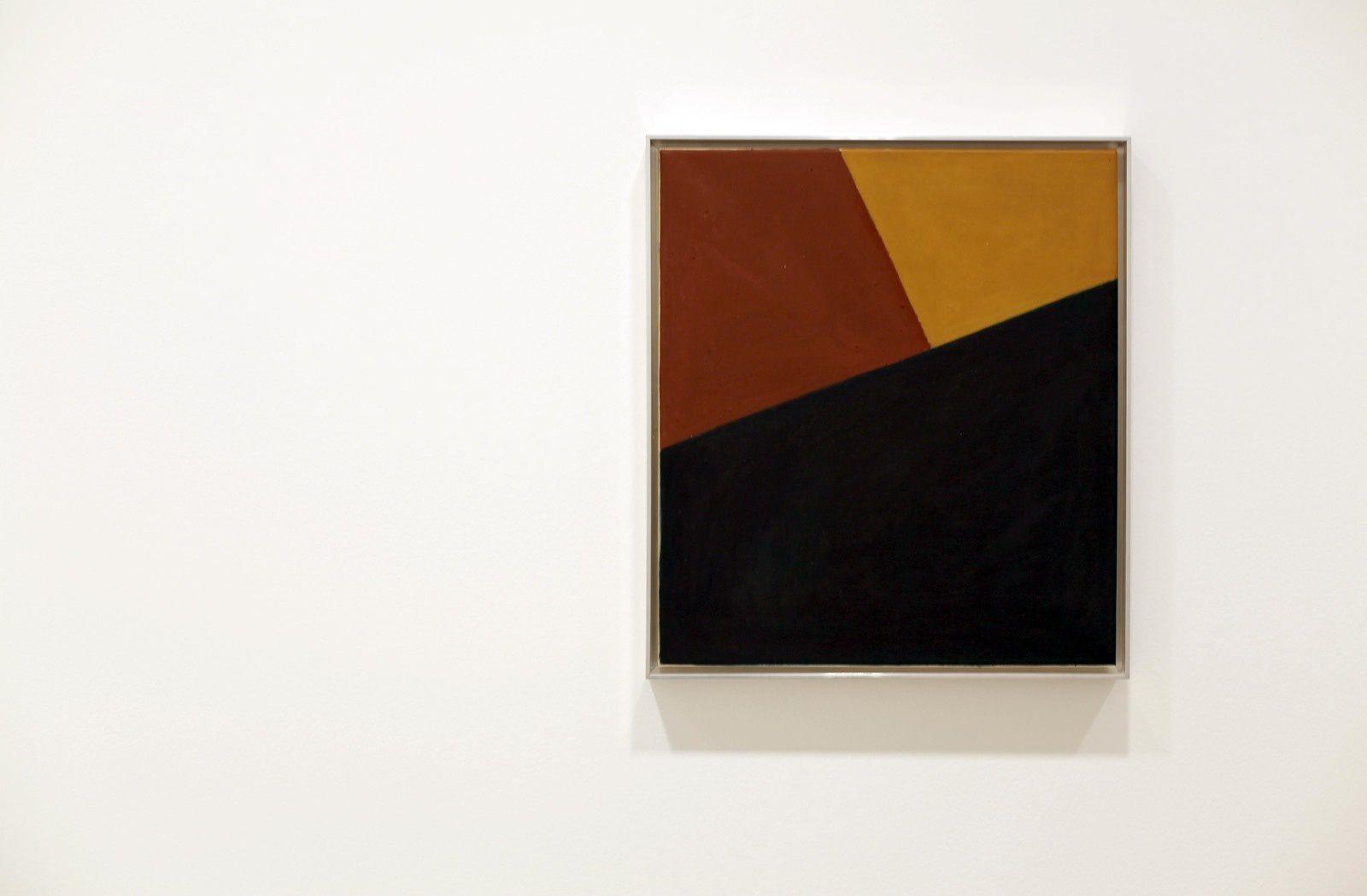 """Ohne Titel"", 1954 de Arnulf RAINER - Courtesy Galerie Thaddaeus Ropac © Photo Éric Simon"