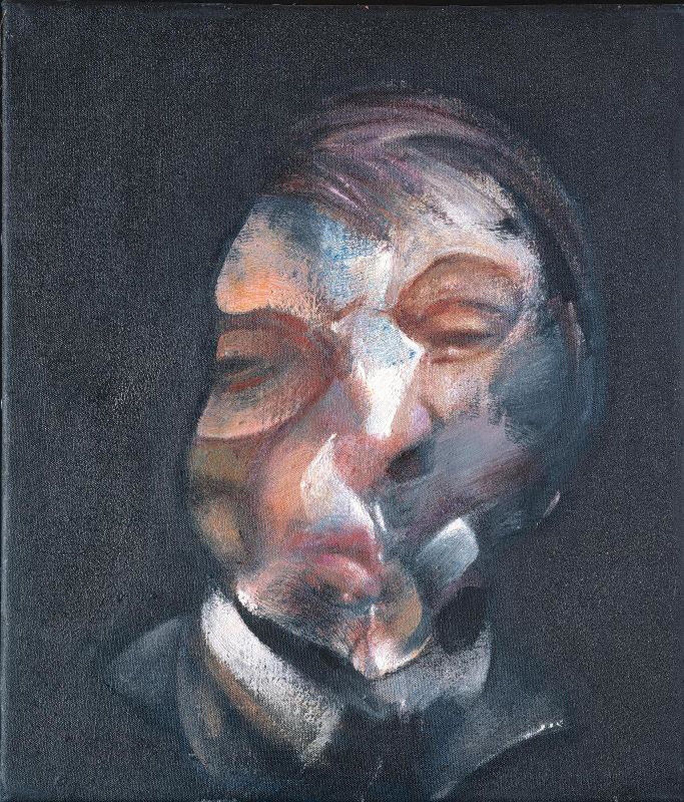 """Selfportrait"", 1971 de Francis BACON © Philippe Migeat - Centre Pompidou, MNAM-CCI /Dist. RMN-GP © The Estate of Francis Bacon / All rights reserved / Adagp, Paris and DACS, Londres"