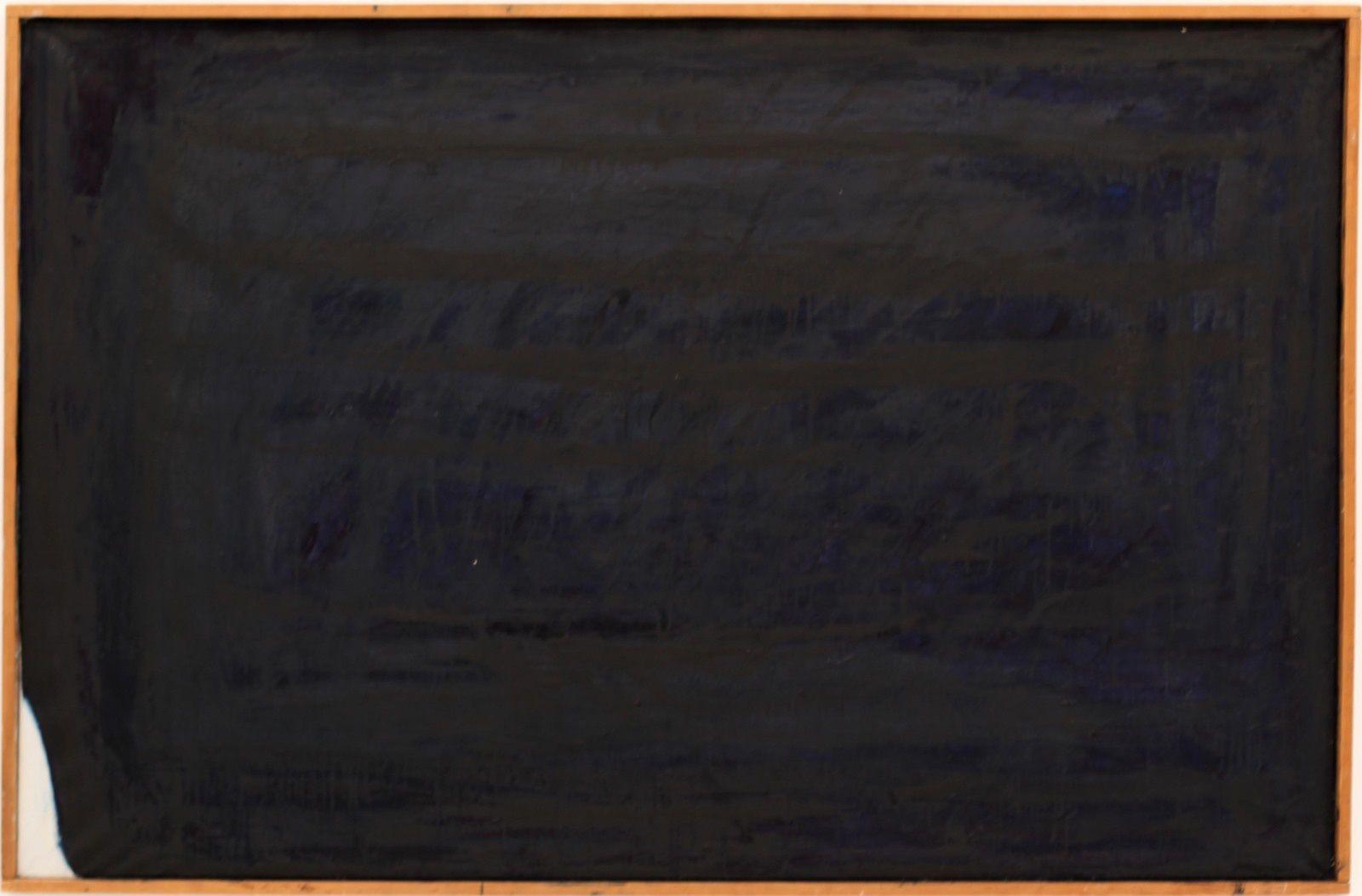 """Das Meer"", 1959 - 1960 de Arnulf RAINER - Courtesy Galerie Thaddaeus Ropac © Photo Éric Simon"