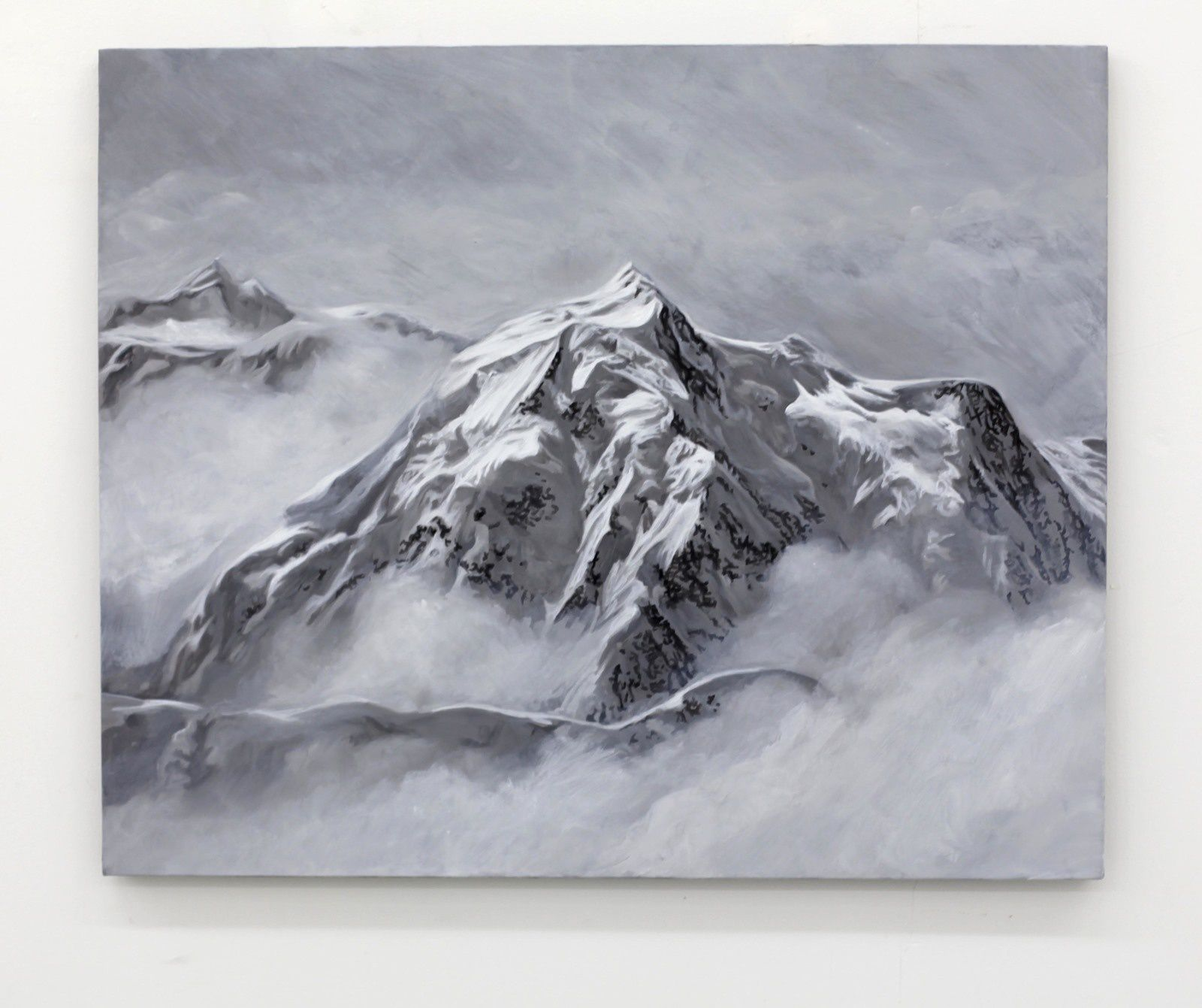 """Mont Blanc 4"", 2019 de Hervé HEUZÉ - Courtesy Galerie Richard Paris © Photo Éric Simon"