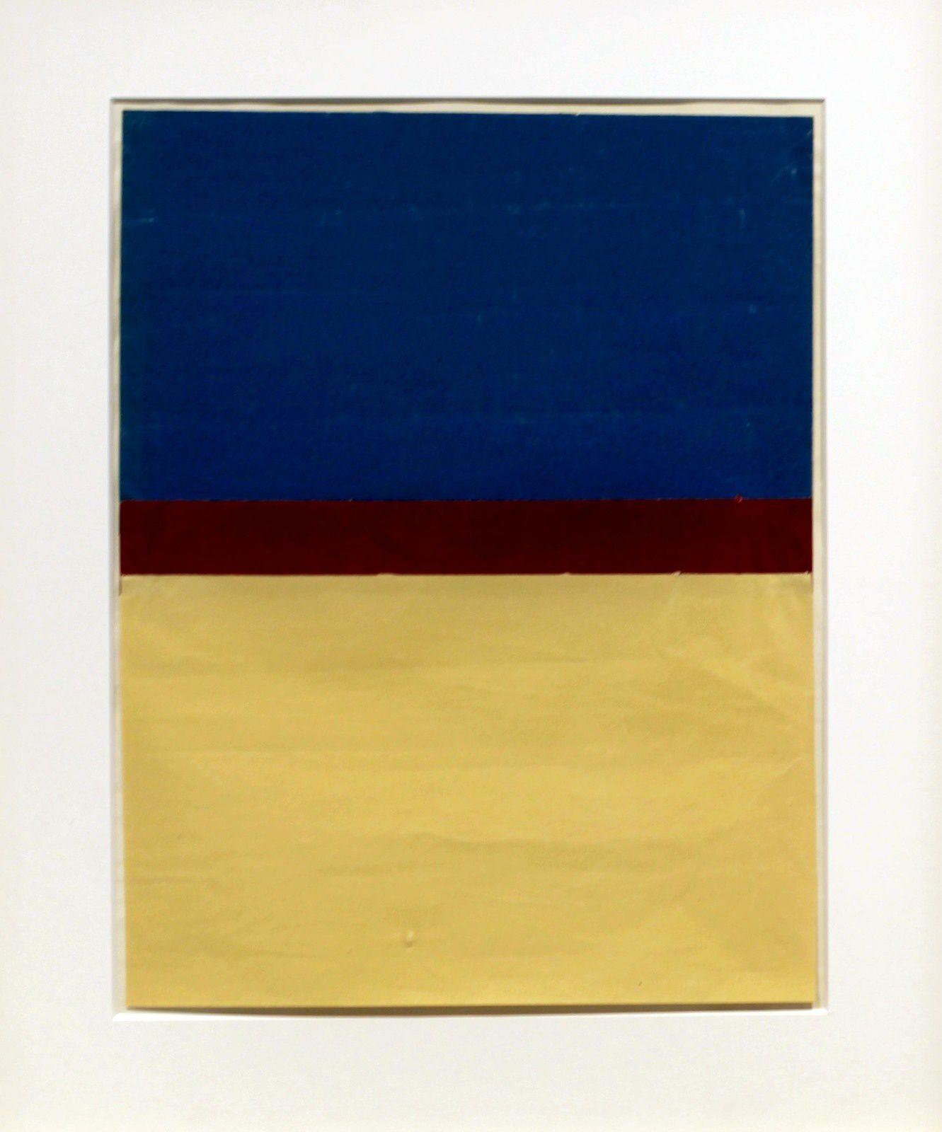 """Ohne Titel"", 1952 de Arnulf RAINER - Courtesy Galerie Thaddaeus Ropac © Photo Éric Simon"