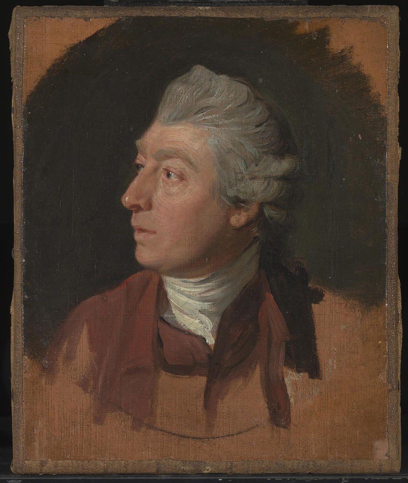 """""""Johan Zoffany"""", 1772 de Thomas GAINSBOROUGH - Courtesy Tate Britain"""
