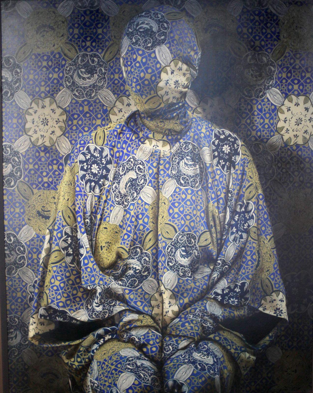 """Now you See Me (Chinese kimono)"" de Markus ÄKESSON - Courtesy Galerie Da-End © Photo Éric Simon"