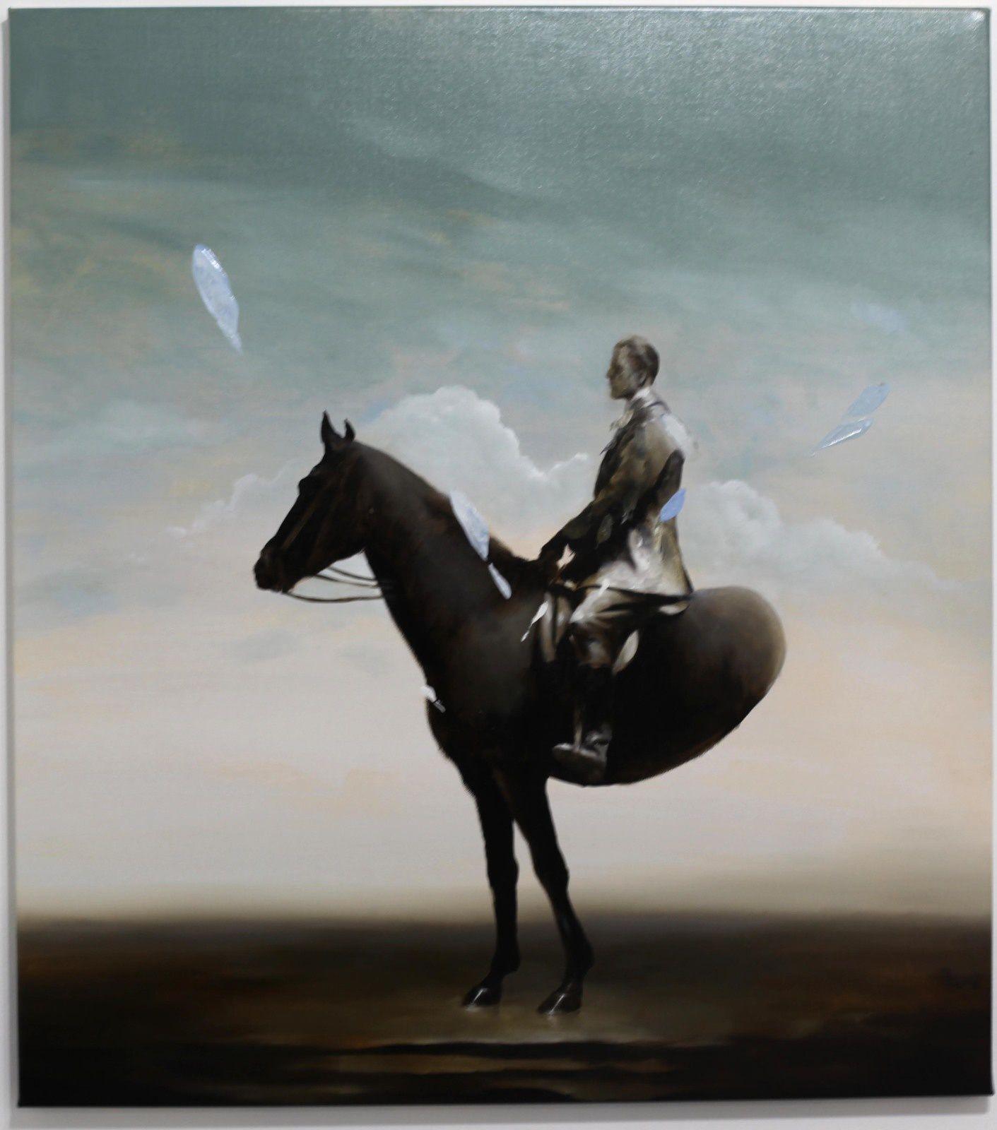 """""""Ambiguous"""", 2019 de Radu BELCIN - Courtesy Galerie Valerie Delaunay © Photo Éric Simon"""