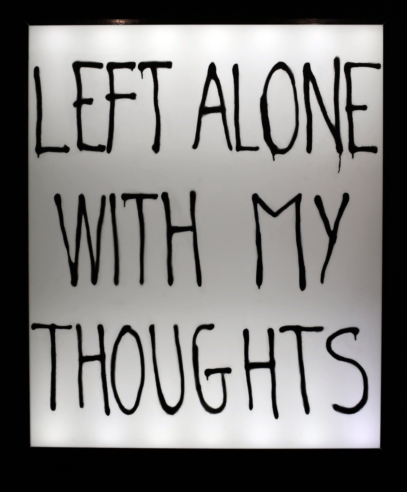 """""""Left alone with my thoughts"""", 2019 de Timothee TALARD - Courtesy Galerie ALB © Photo Éric Simon"""