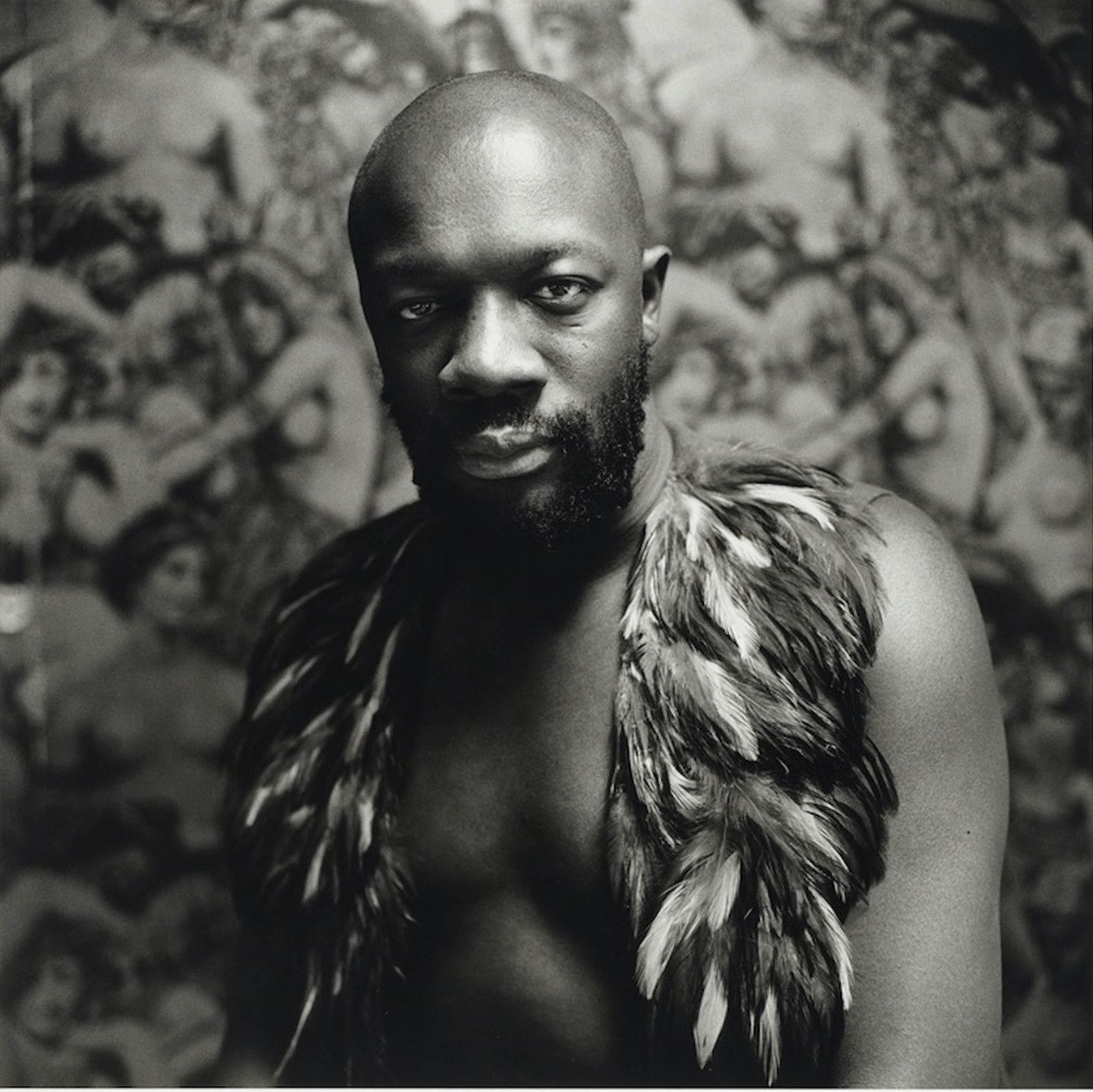 Peter Hujar: Isaac Hayes, 1971; gelatin silver print; 14 3/4 x 14 3/4 in.; Peter Hujar Collection, the Morgan Library & Museum, New York, purchased on the Charina Endowment Fund. © 1969 Peter Hujar Archive LLC, courtesy of Pace/MacGill Gallery, New York, and Fraenkel Gallery, San Francisco.
