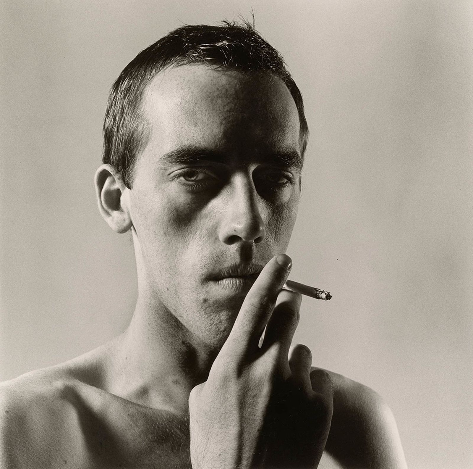 David Wojnarowicz 1981 Peter Hujar Tirage gélatino-argentique, Collection of Ronay and Richard Menschel © Peter Hujar Archive, LLC, courtesy Pace/MacGill Gallery, New York and Fraenkel Gallery, San Francisco