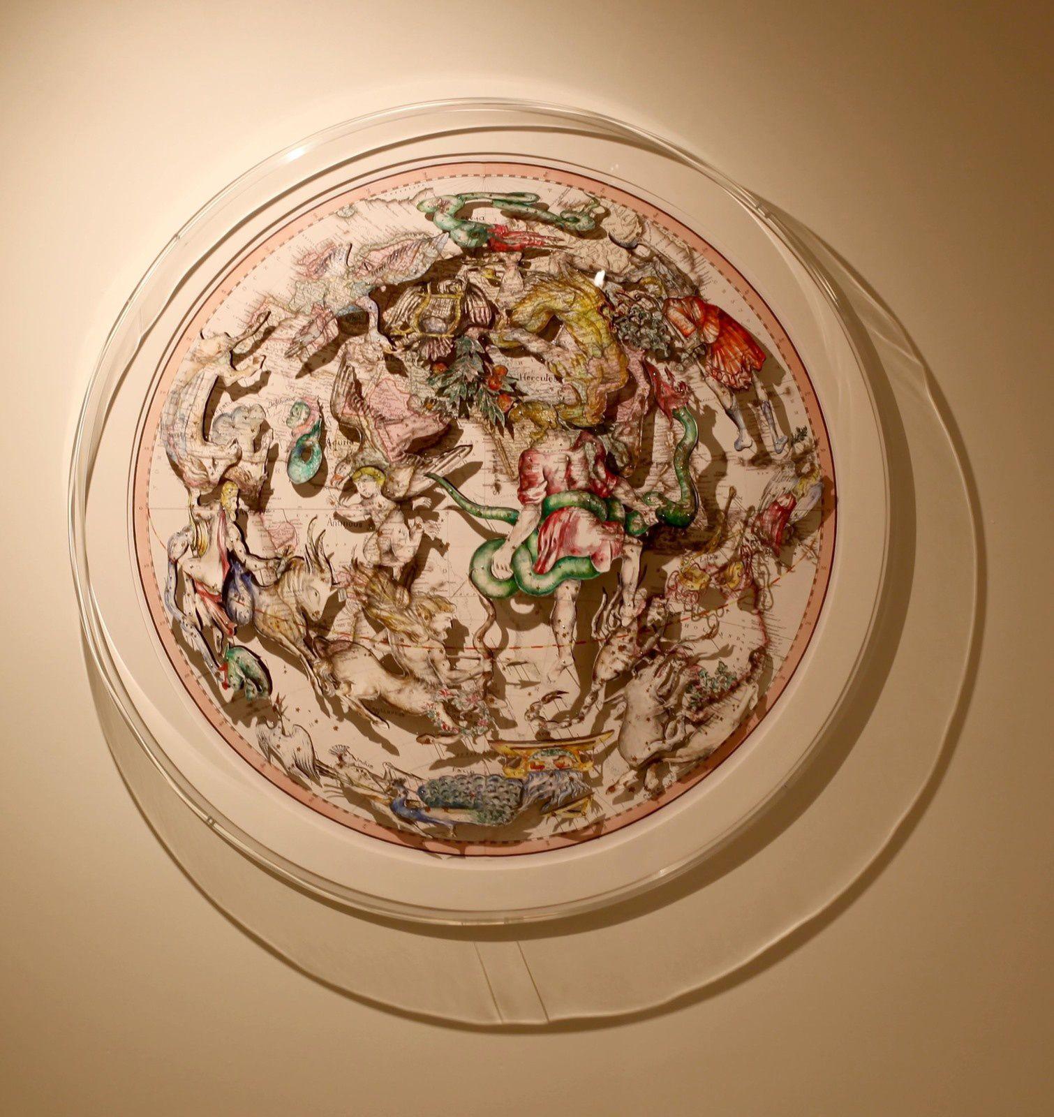 """""""Constellation 18"""", 2019 de Pietro RUFFO - Courtesy de l'Artiste et la Galerie Italienne © Photo Éric Simon"""