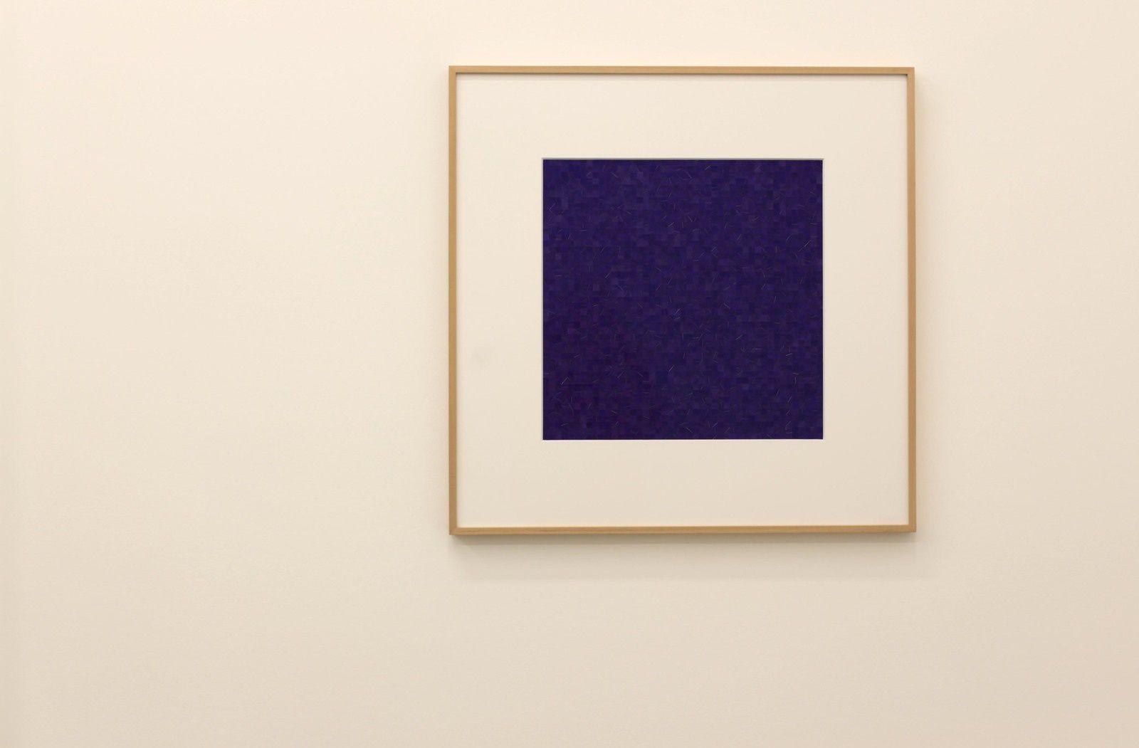 """2,025 II"", 2019 de Gabriel DE LA MORA - Courtesy Galerie Perrotin © Photo Éric Simon"