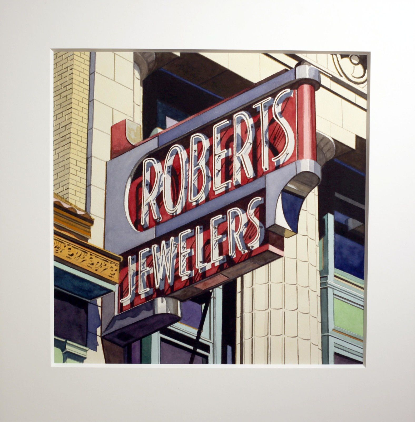 """Roberts Jewelers"", 2013 de Robert COTTINGHAM - Courtesy Galerie Georges-Philippe & Nathalie Vallois © Photo Éric Simon"