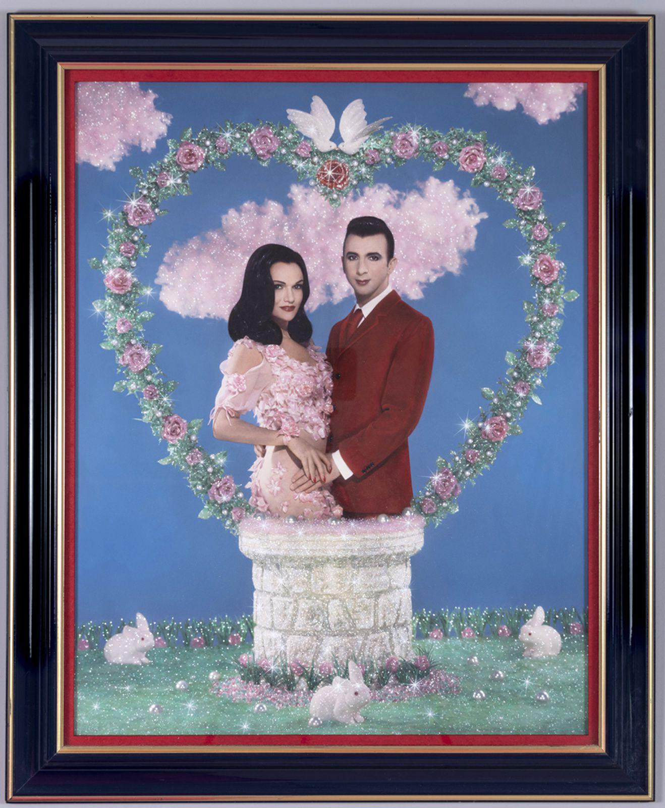 """""""Le mystère de l'amour - Marie France et Marc Almond"""", 1992 de PIERRE et GILLES - Courtesy des artistes"""