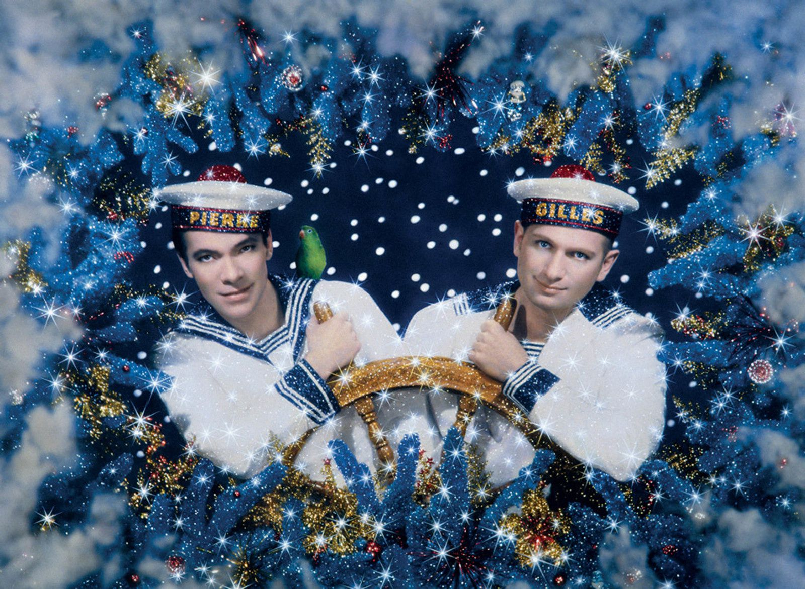 """Les deux marins - autoportrait"", 1993 de PIERRE et GILLES - Courtesy Collection Museums of Fines Arts, Houston, USA"